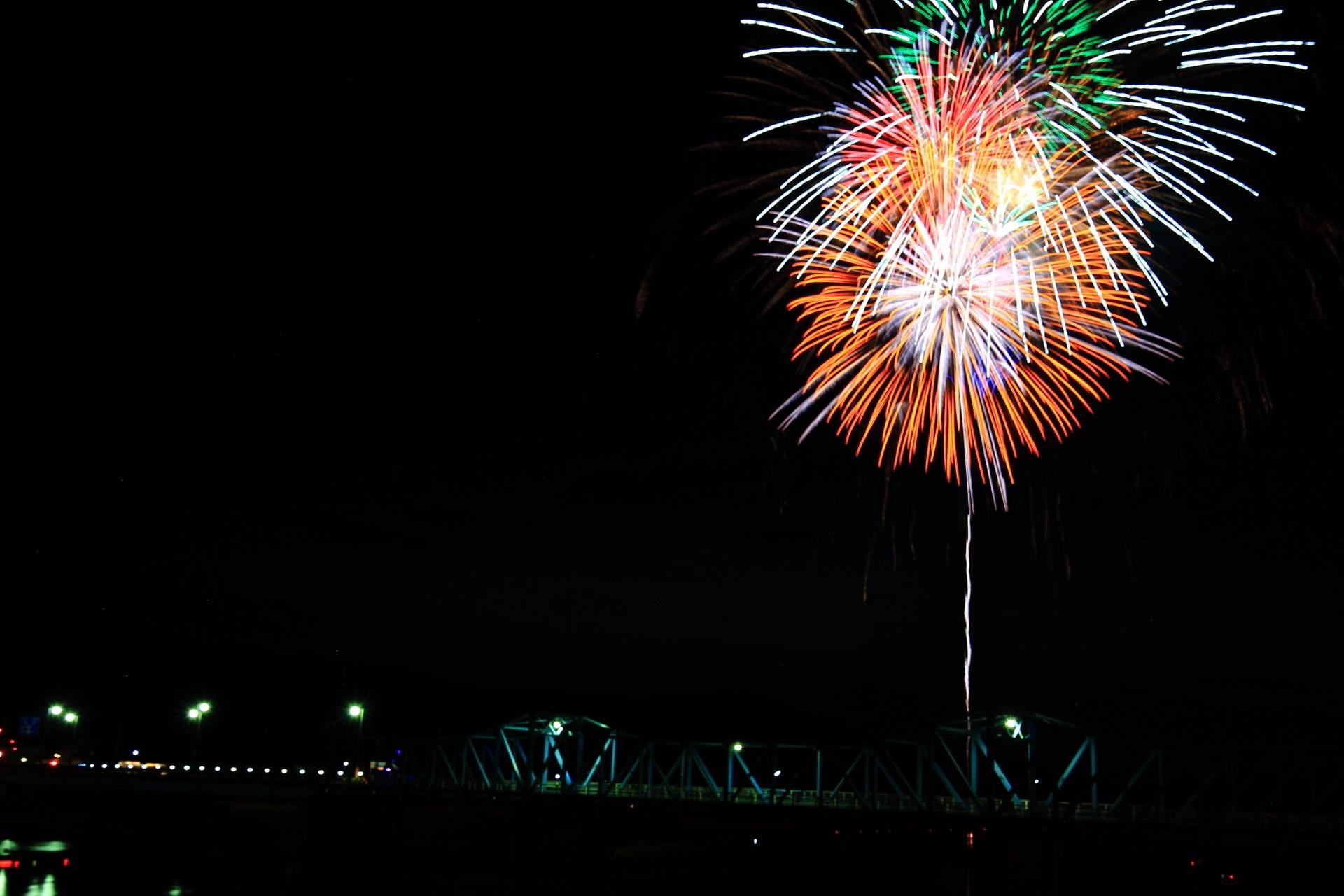 地域密着型の南丹市花火大会