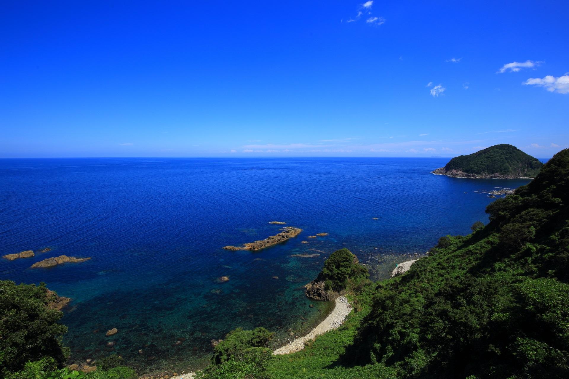 一生もんのカマヤ海岸と日本海の素晴らしすぎる情景