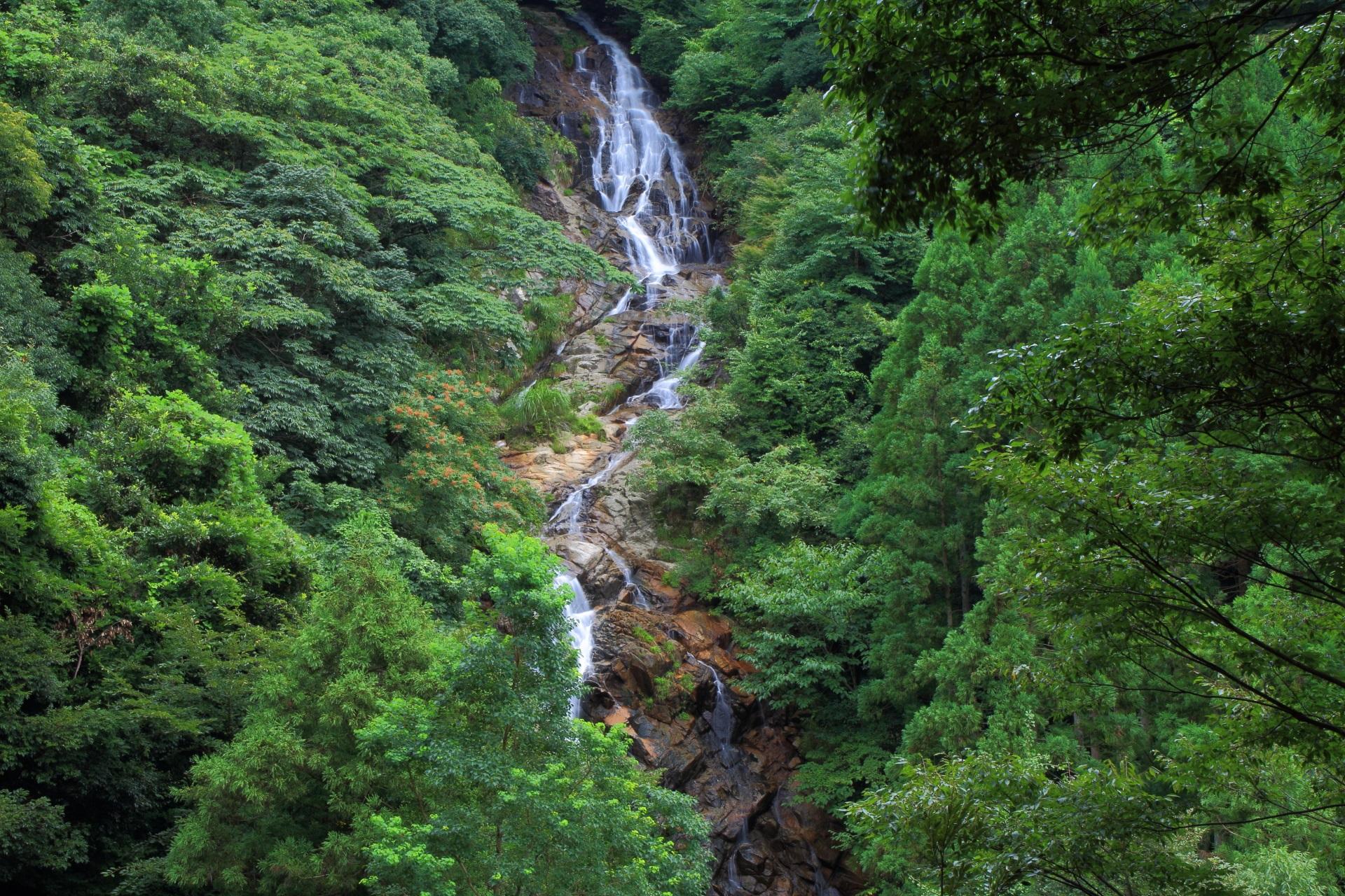 今福の滝の2の滝と3の滝