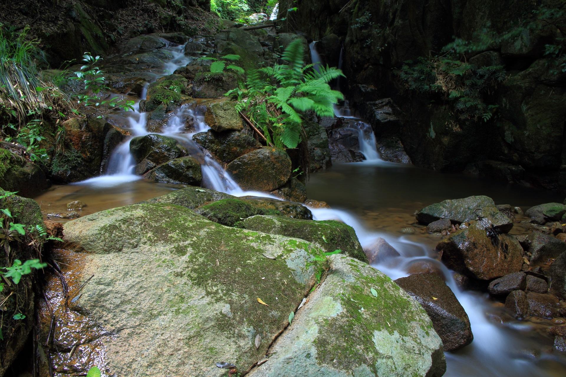 今福の滝の4の滝から7の滝