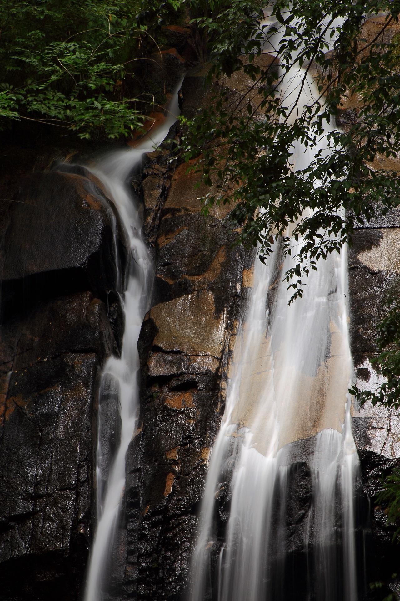 地球の力を感じる見事な流れと岩