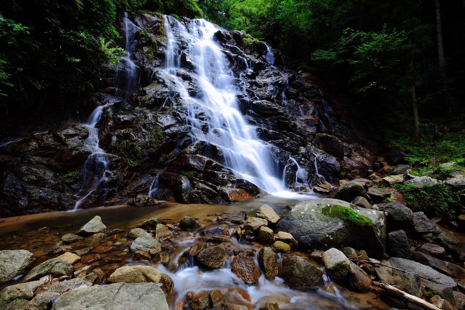 素晴らしい今福の滝