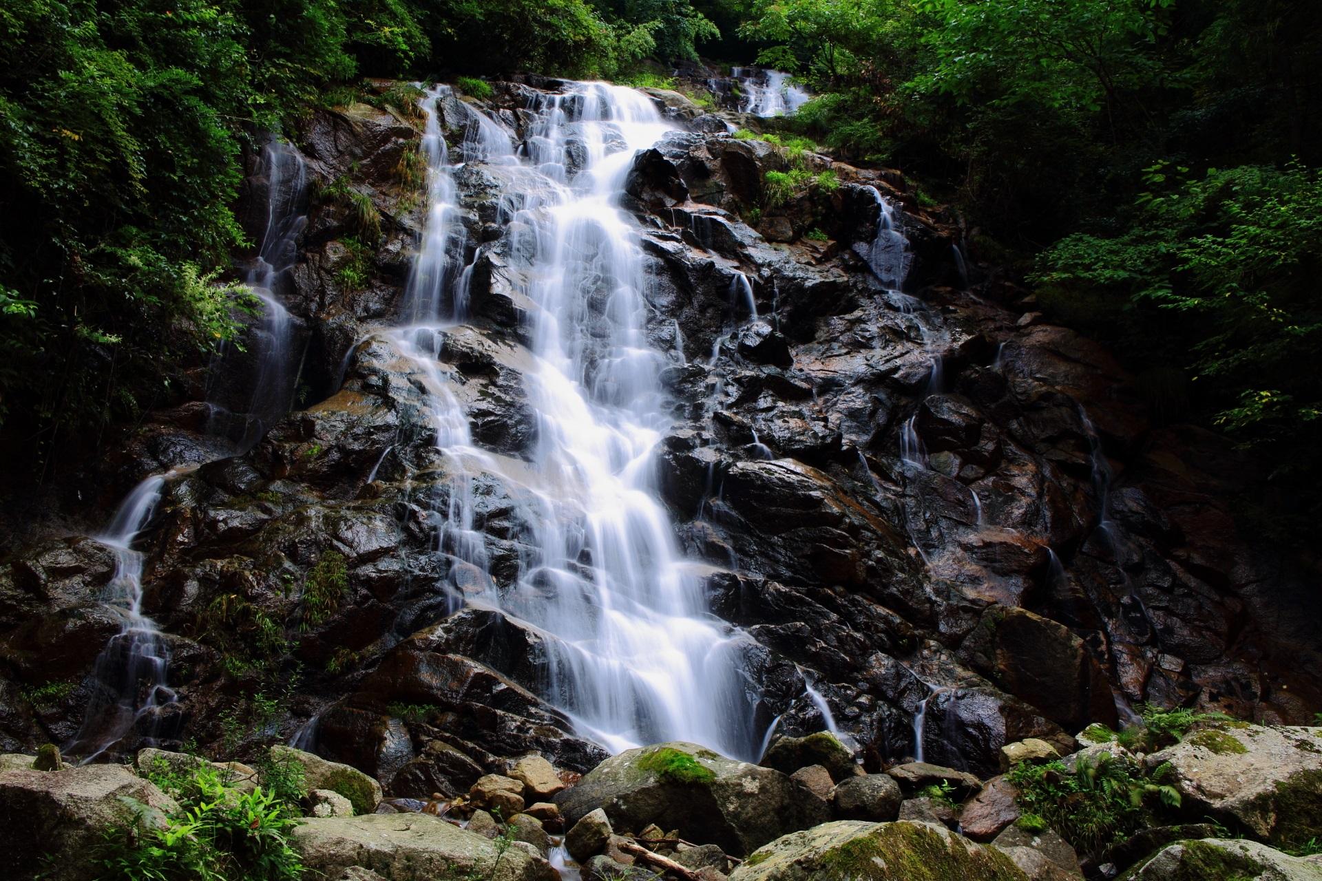 高画質 今福の滝 写真