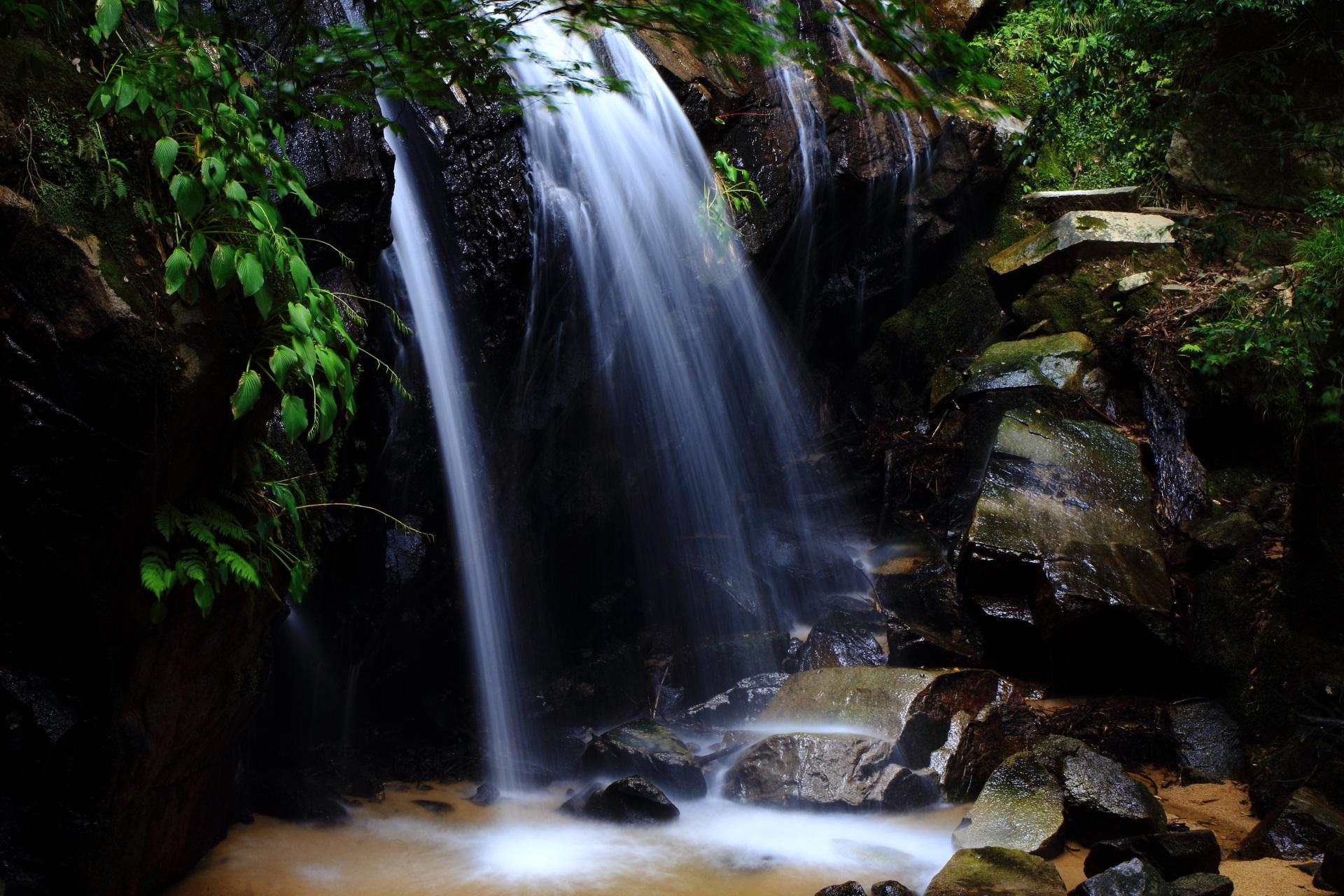 高画質 金引の滝 写真
