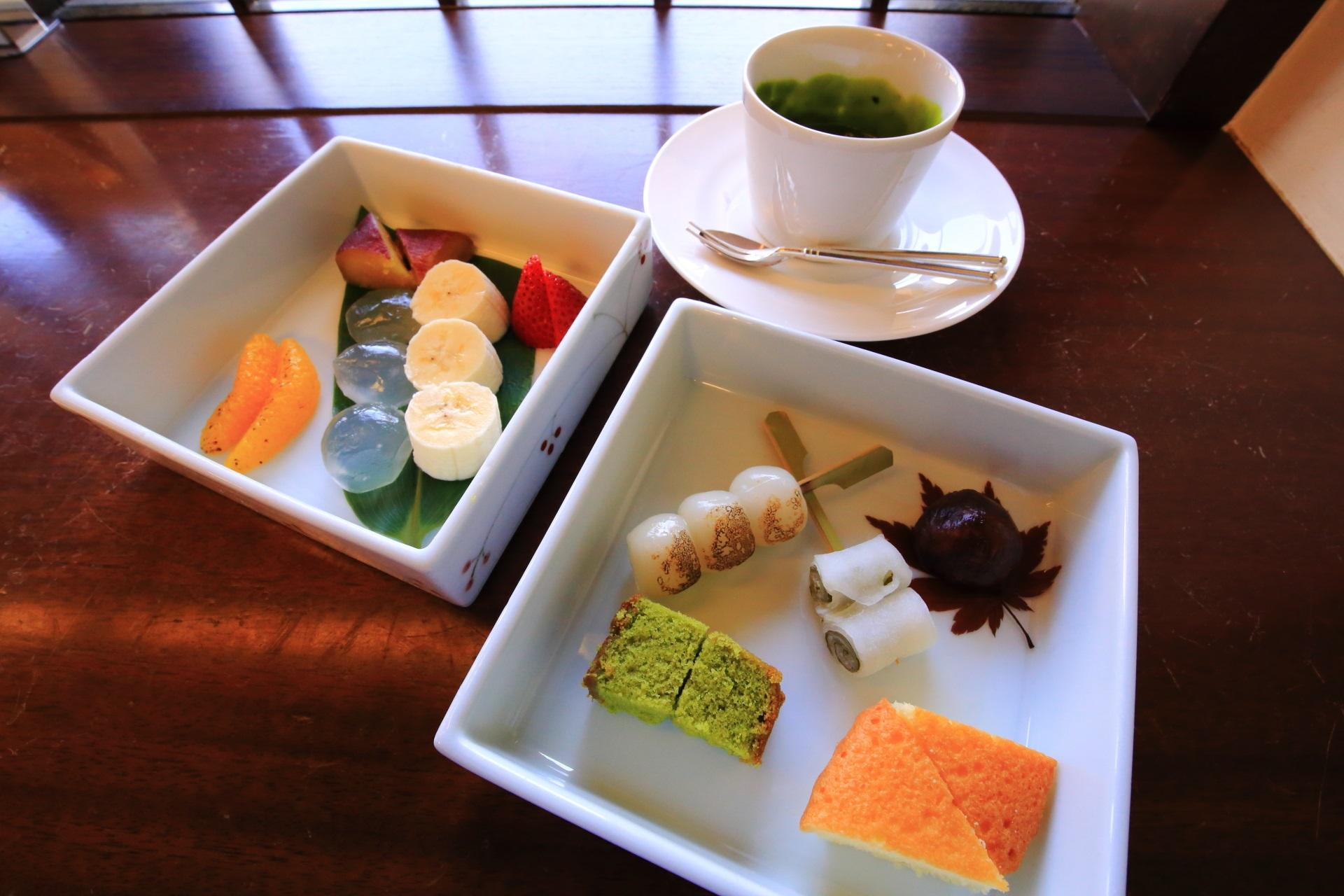 祇園の京洋菓子司ジュヴァンセルの祇園フォンデュ(税込1,458円)