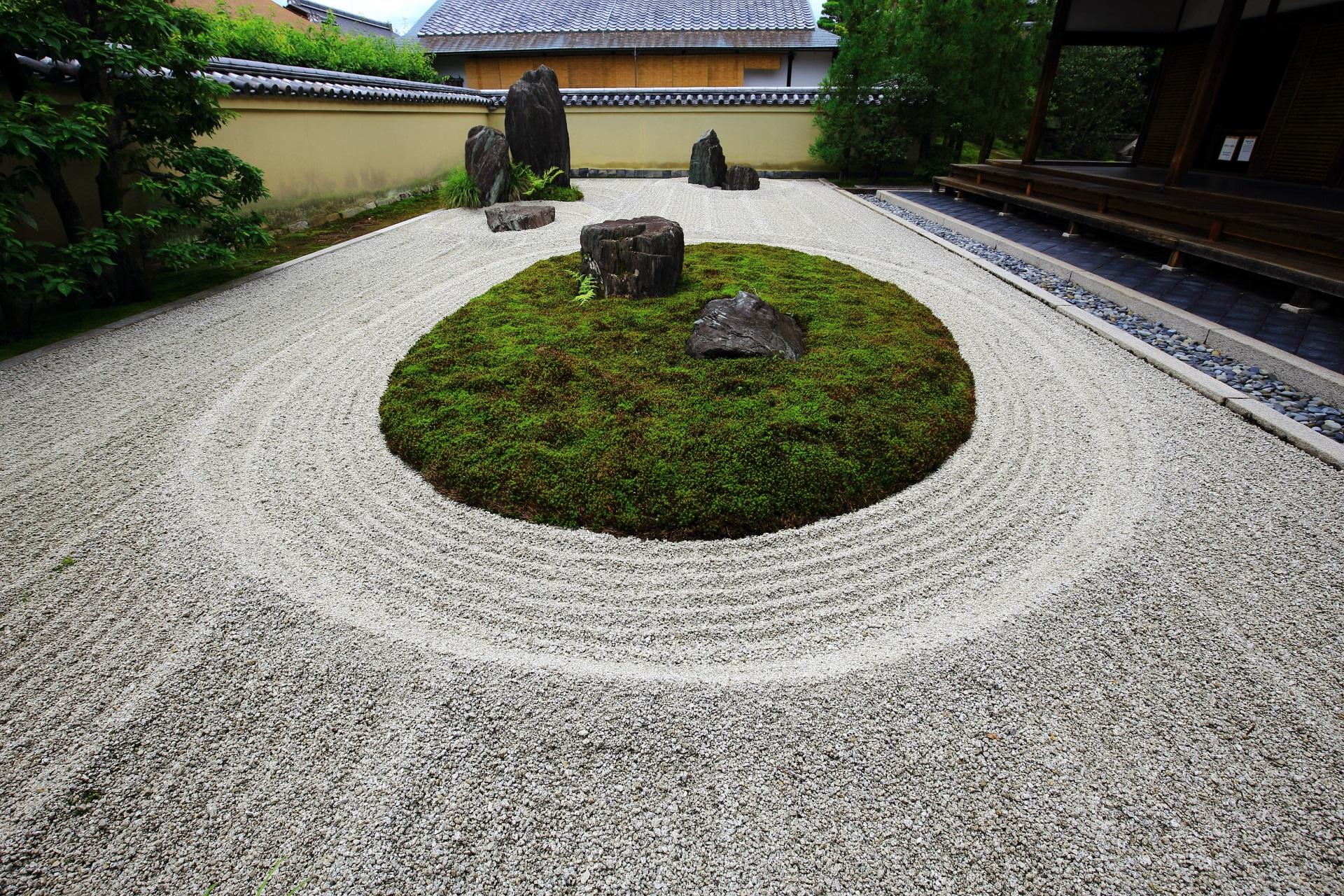 龍源院 庭園 風情と趣きある多彩な枯山水と石庭