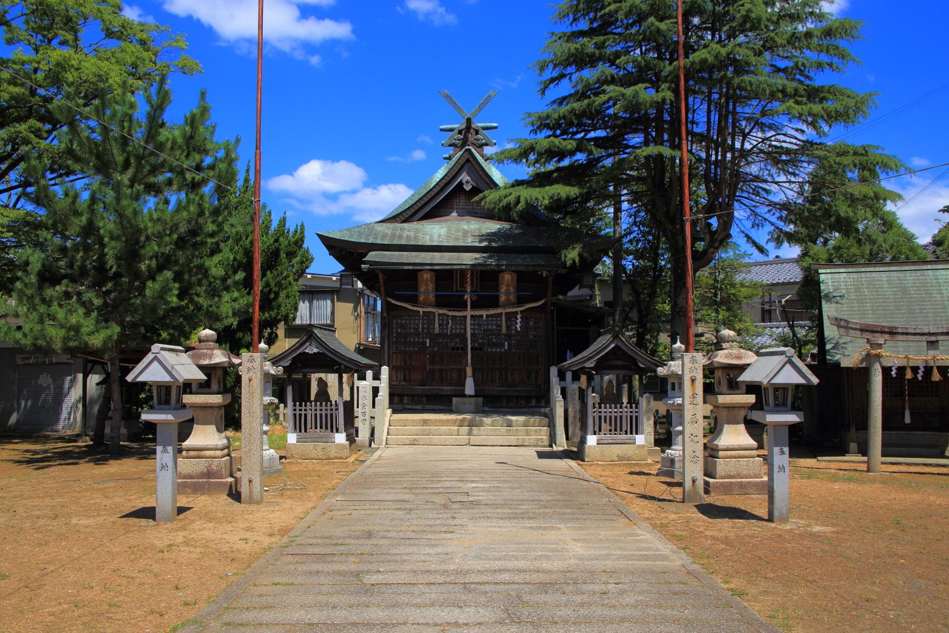 漁業や農耕の神様の水無月神社
