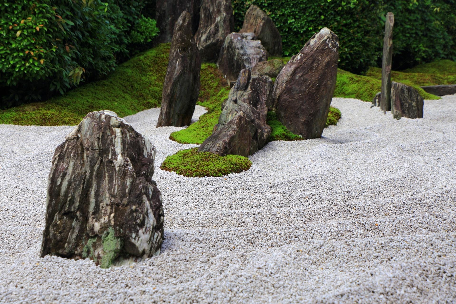 瑞峯院 庭園 高画質 写真