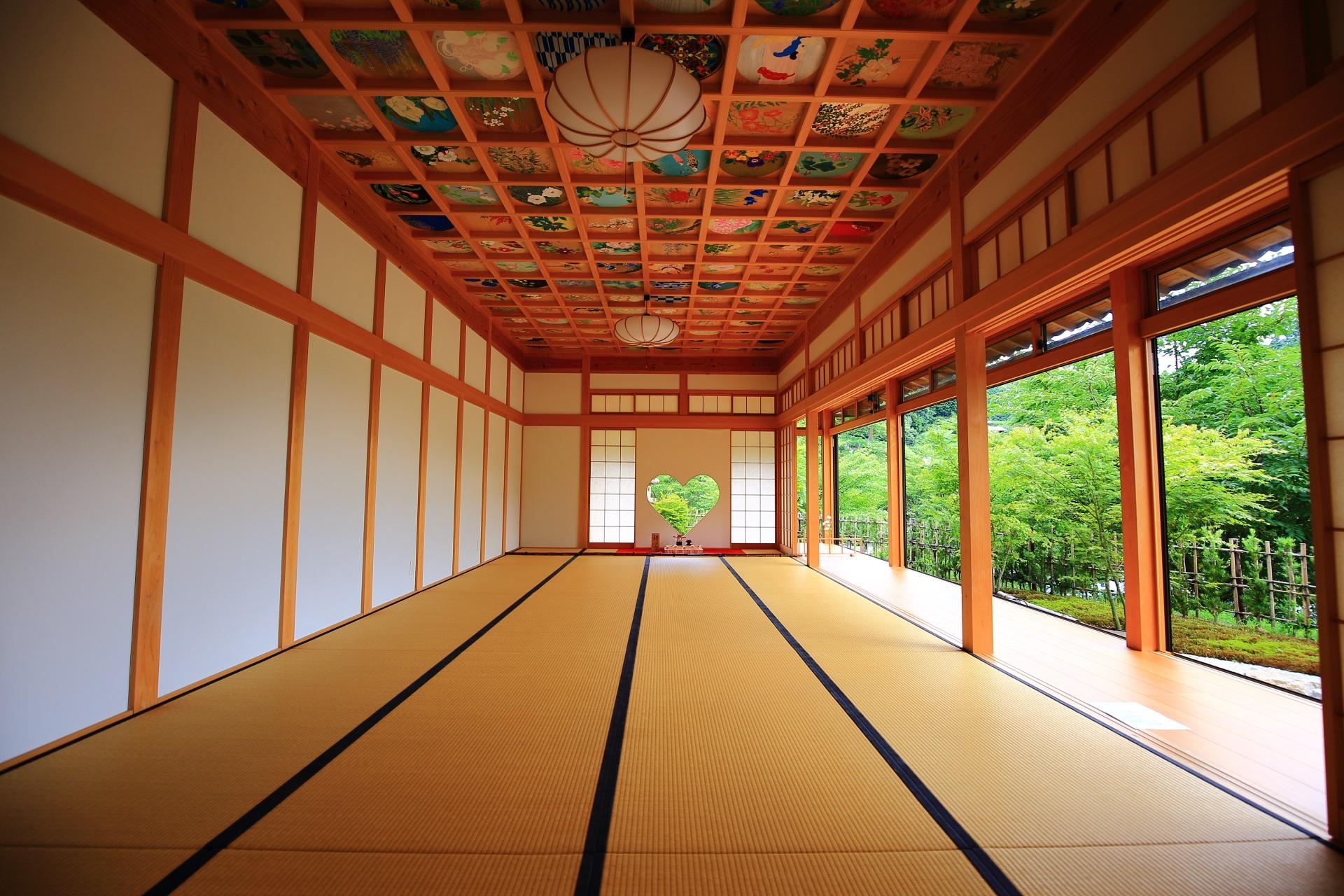 則天去私(そくてんきょし)の言葉に因み「則天の間」と呼ばれる正寿院の客殿