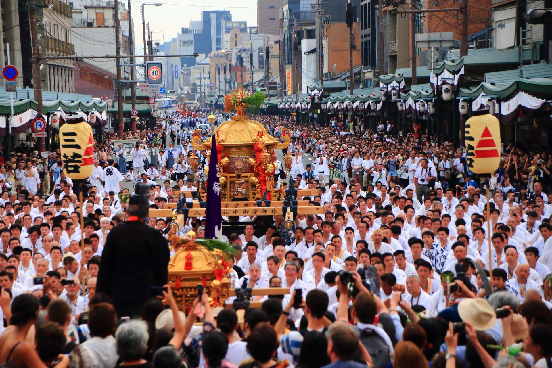 神幸祭 祇園祭 高画質 写真