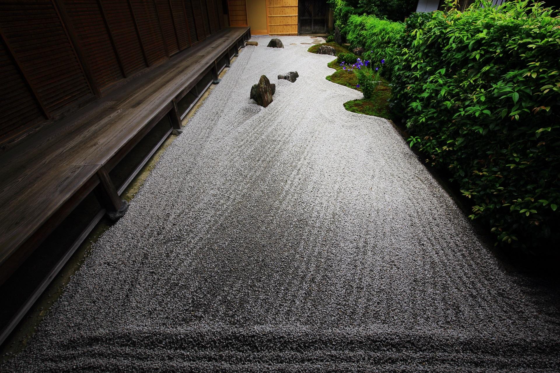瑞峯院の閑眠庭(かんみんてい)(方丈裏庭園)