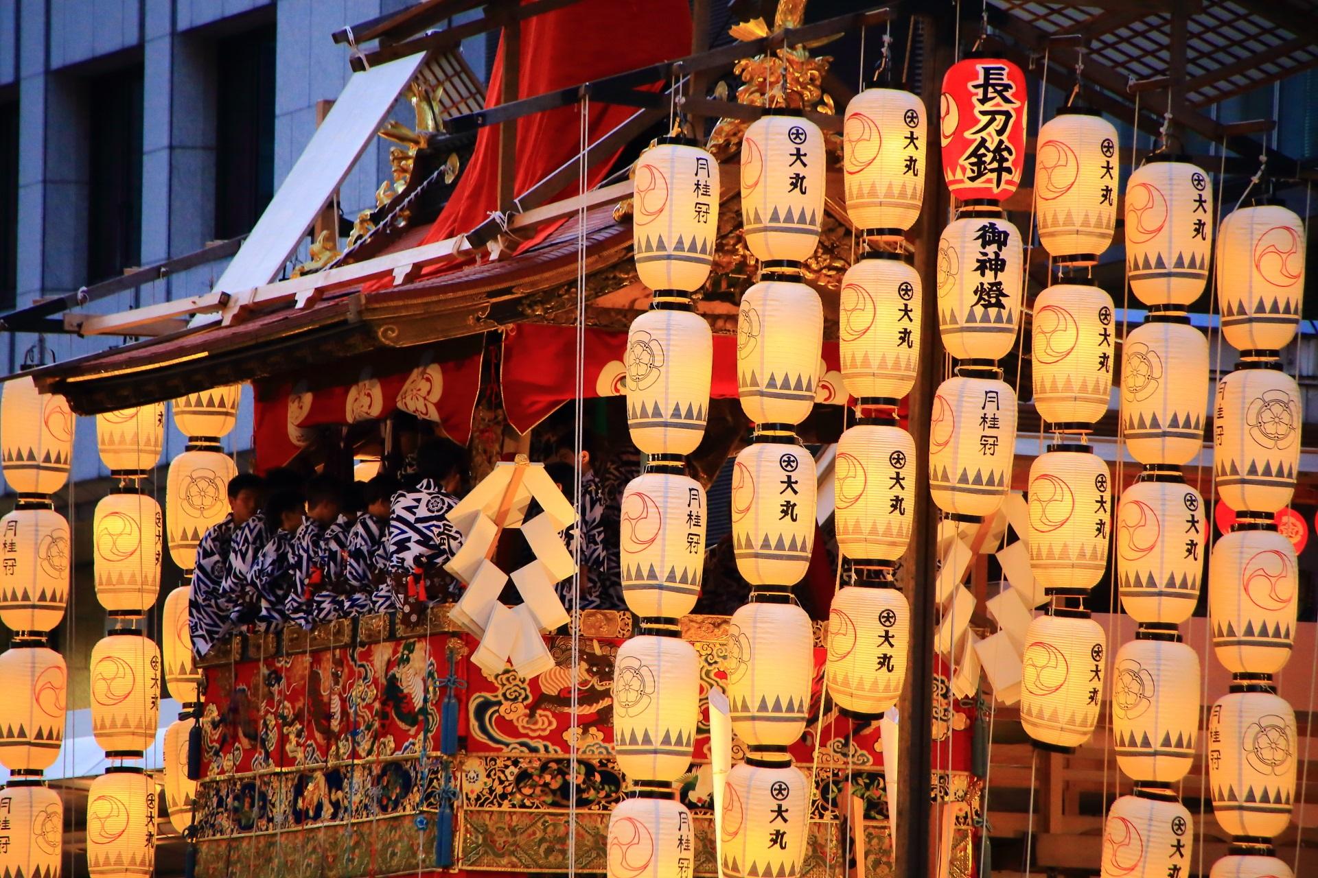暑すぎる夏の風物詩のコンチキチンの祇園囃子