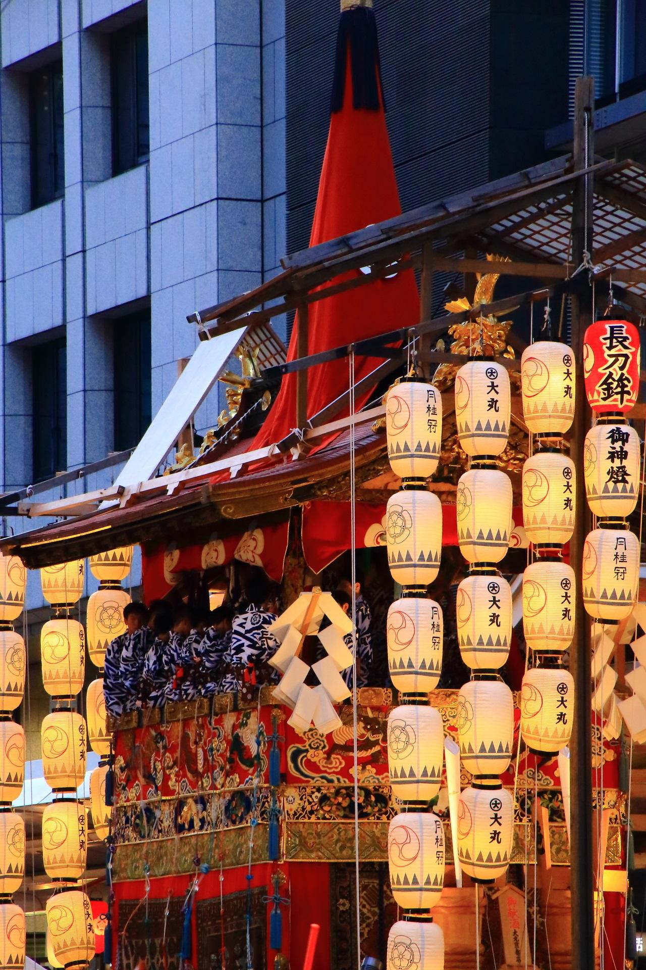 平成最後の夏の祇園祭宵山
