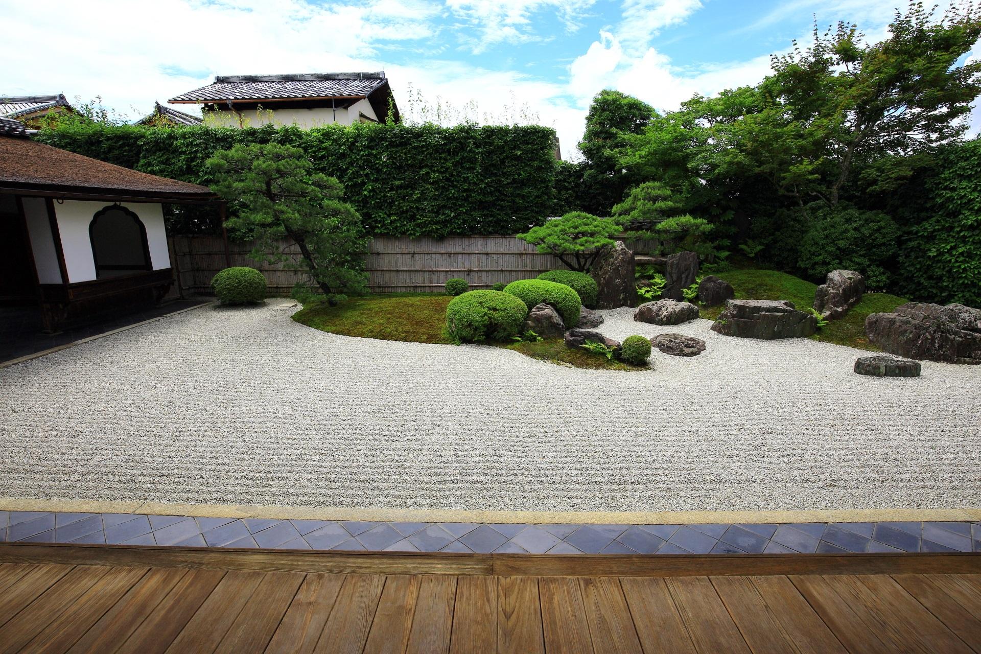 興臨院の方丈前庭園