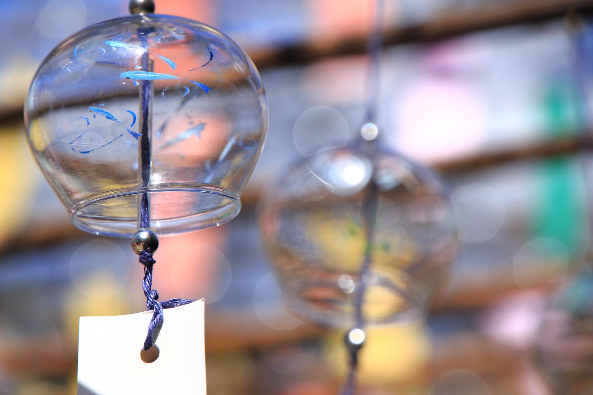 正寿院のメダカや小さな川魚の風鈴