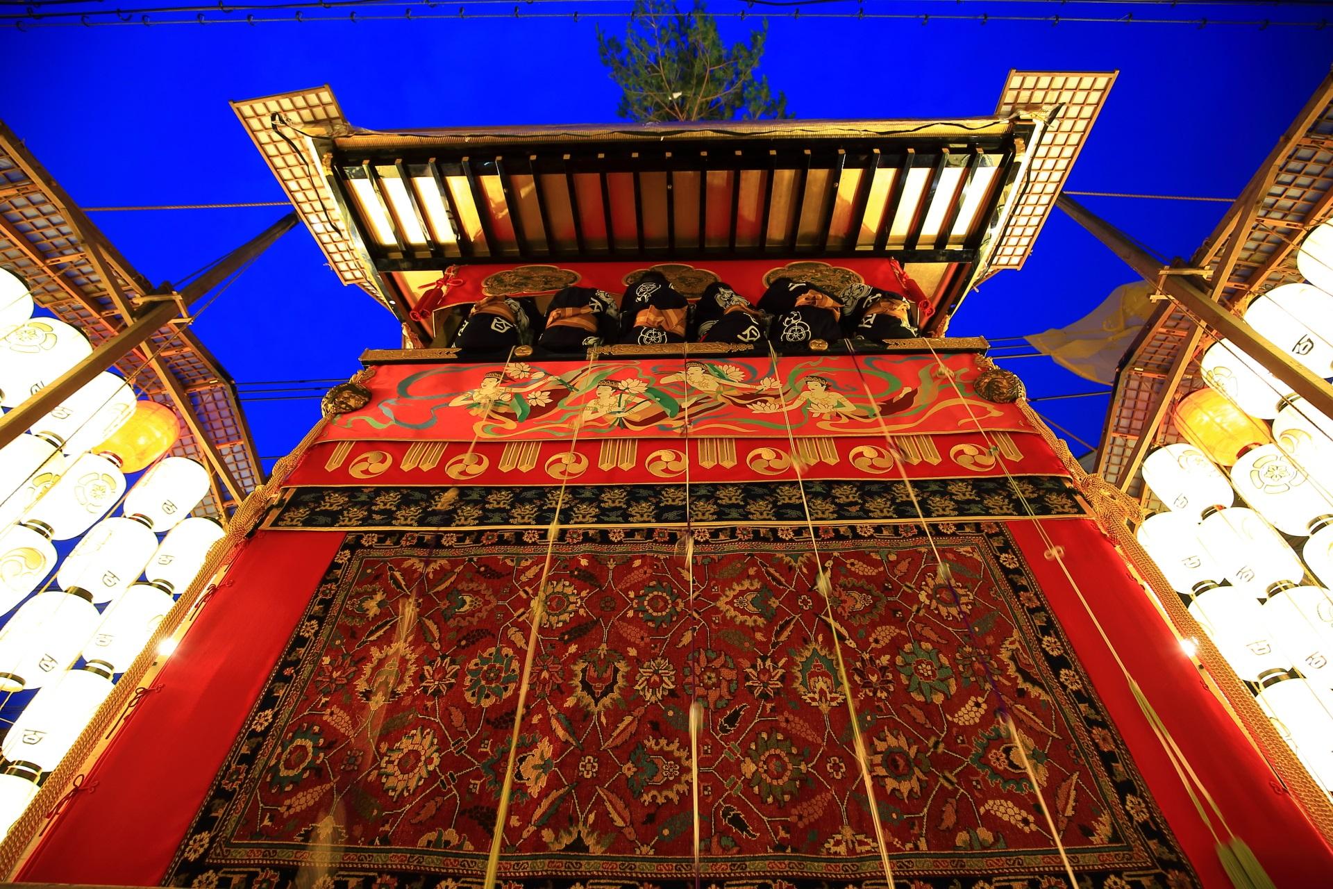 宵山 祇園祭の後祭 夏の夜の風情ある山鉾