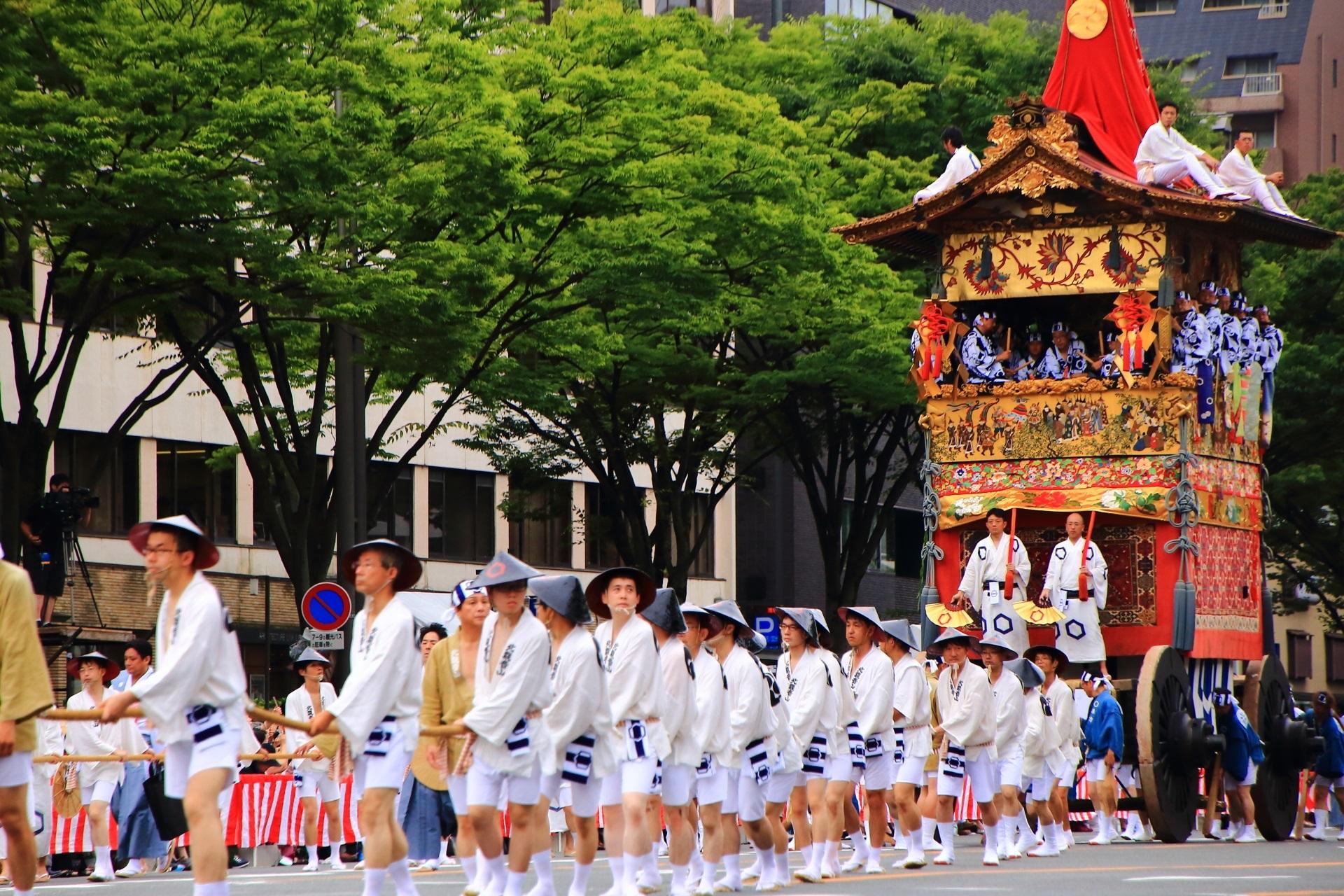 山鉾巡行 祇園祭 後祭 北観音山