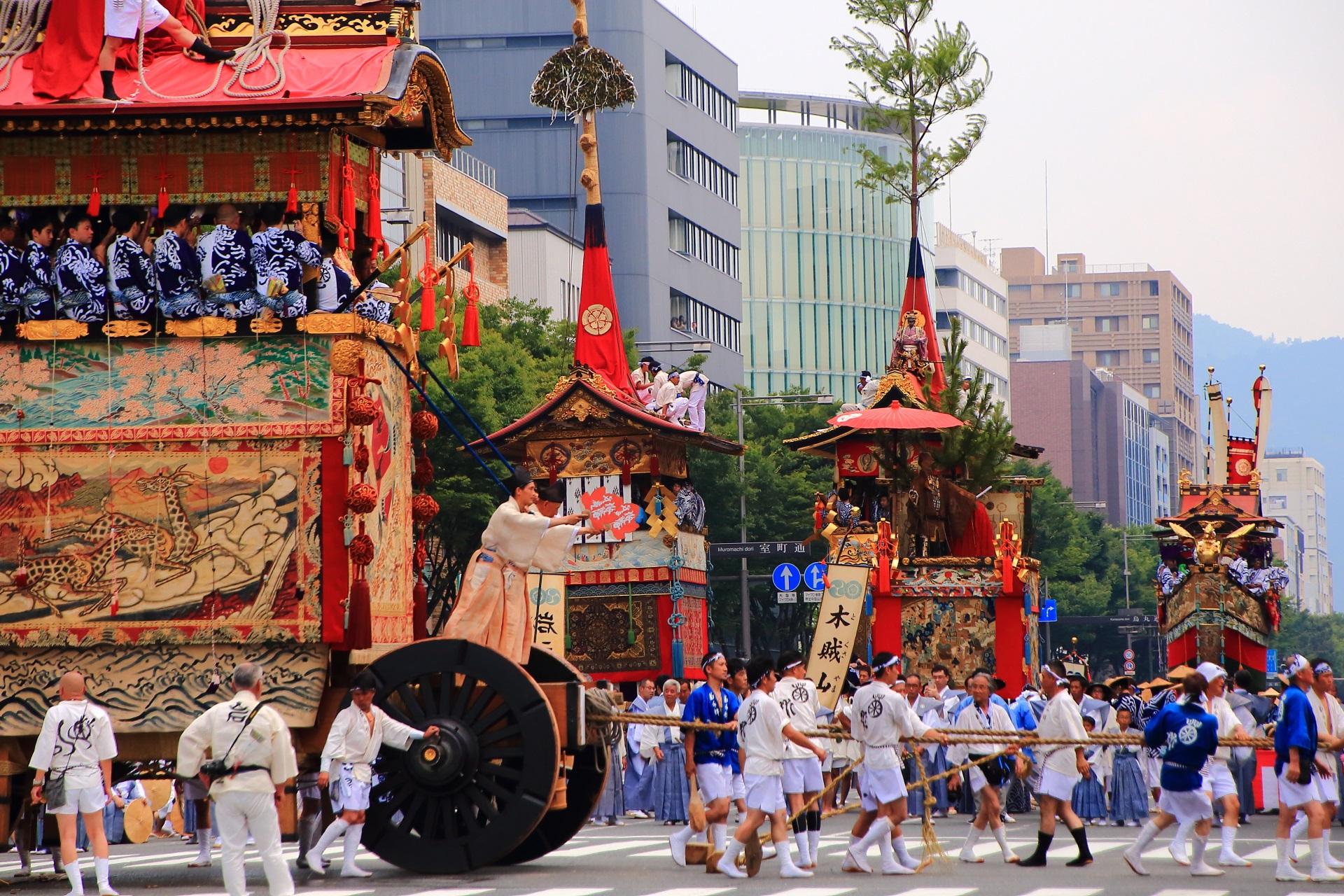 平成最後の暑すぎる夏の山鉾巡行
