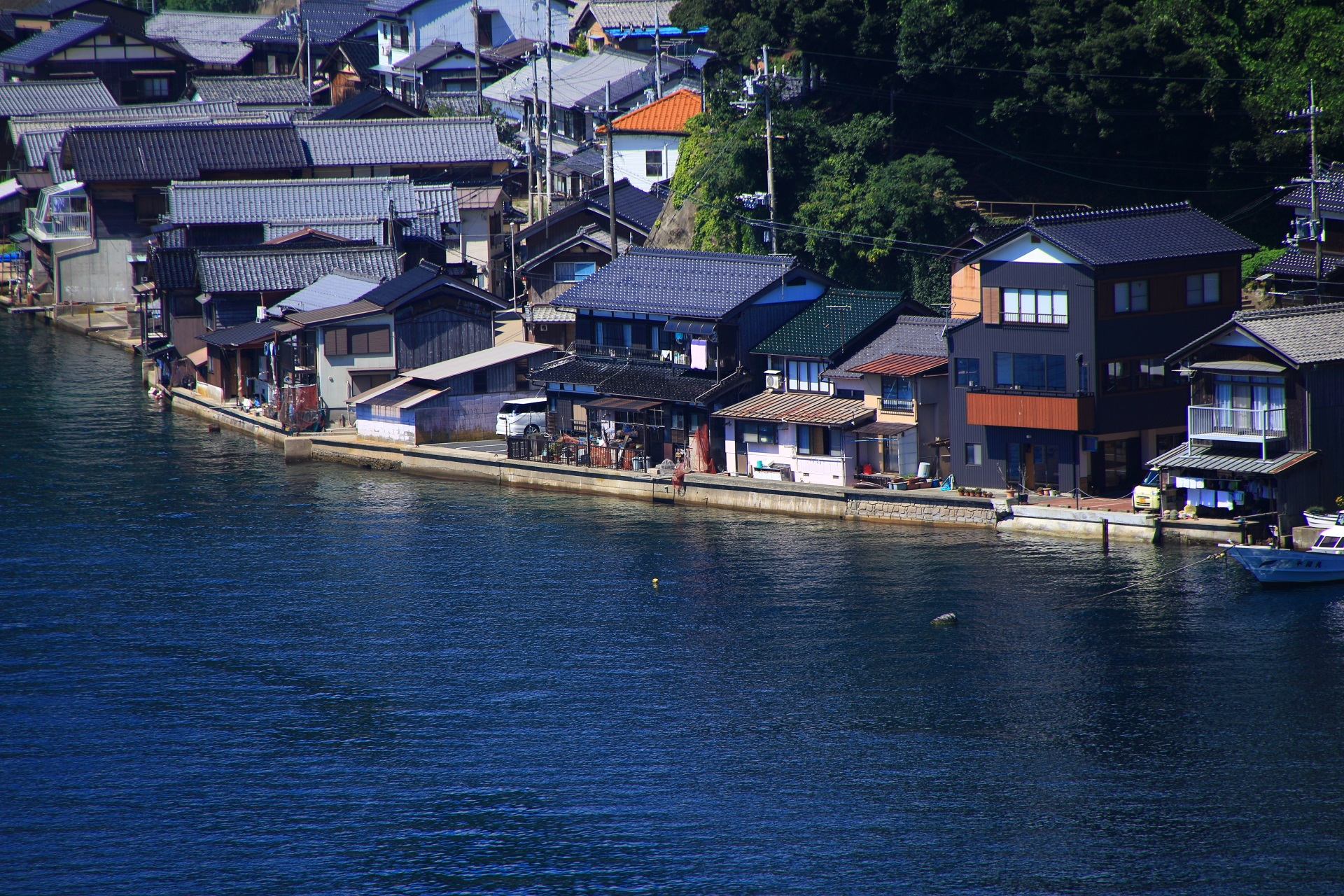 Ine-no-Funaya in Kyoto by the sea