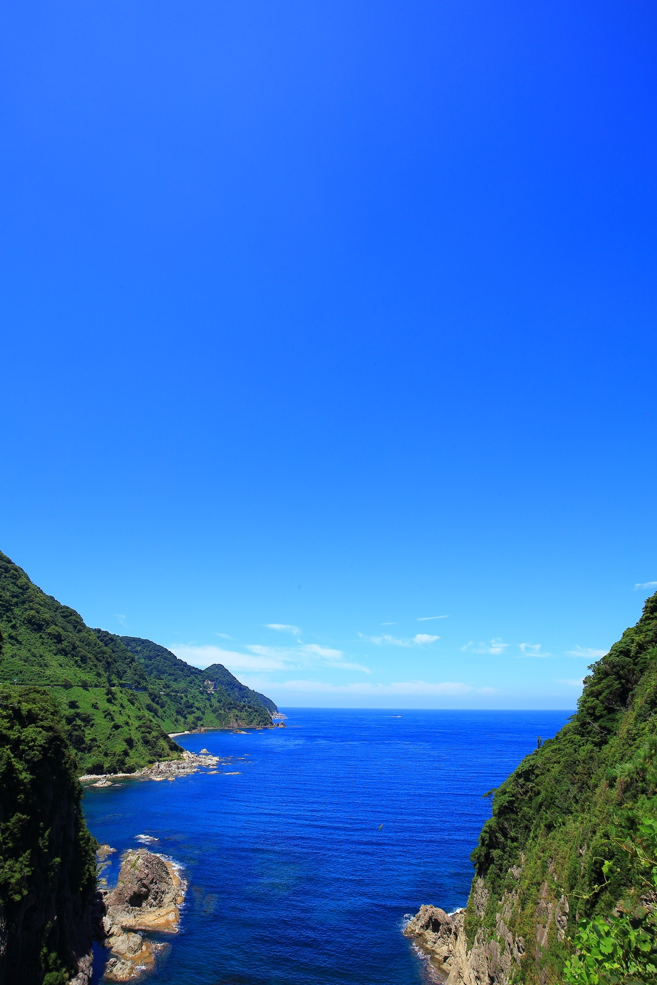 The Kamaya Coast and the Sea of Japan in Kyotango
