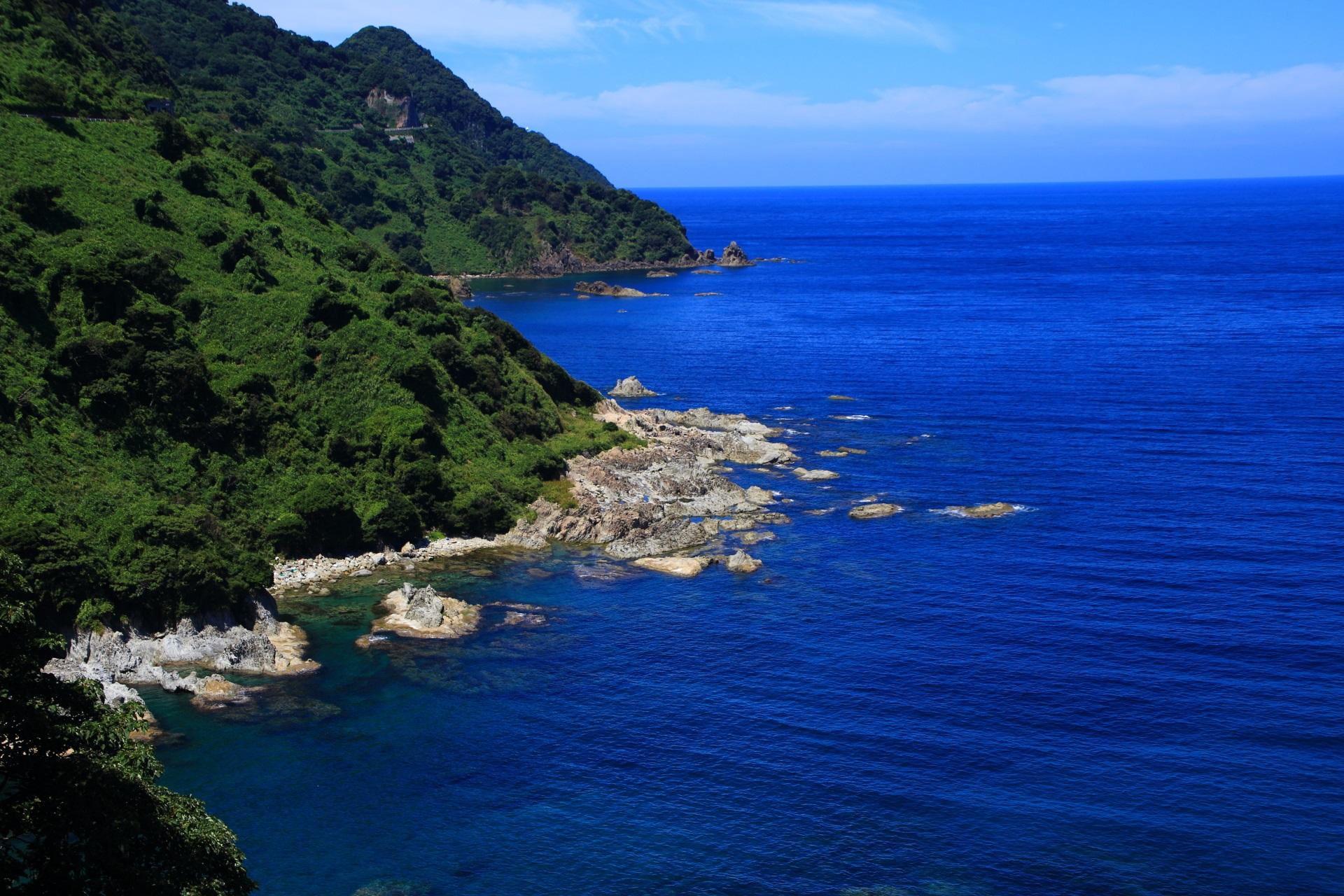 カマヤ海岸 丹後半島 高画質 写真