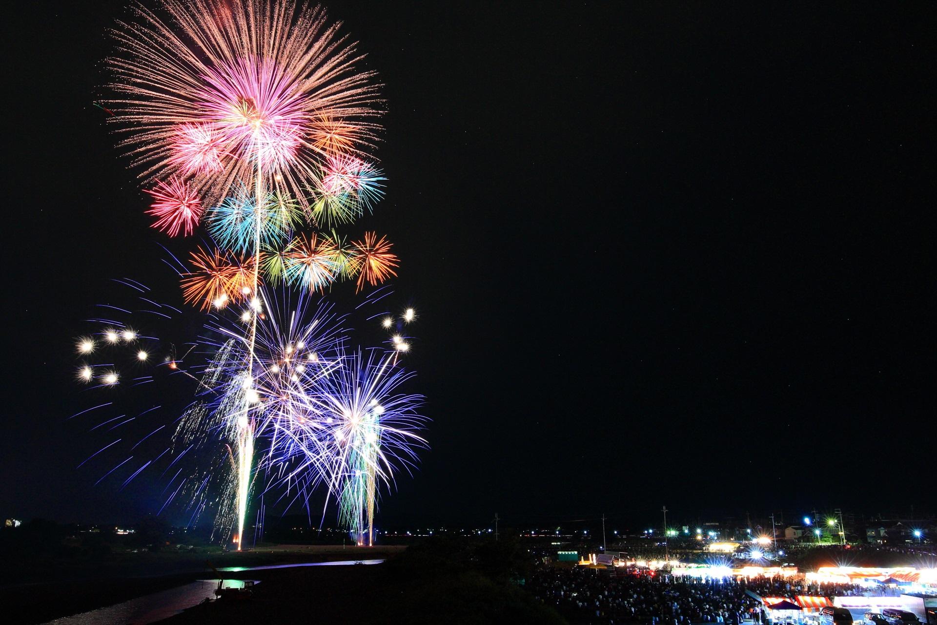 亀岡花火大会