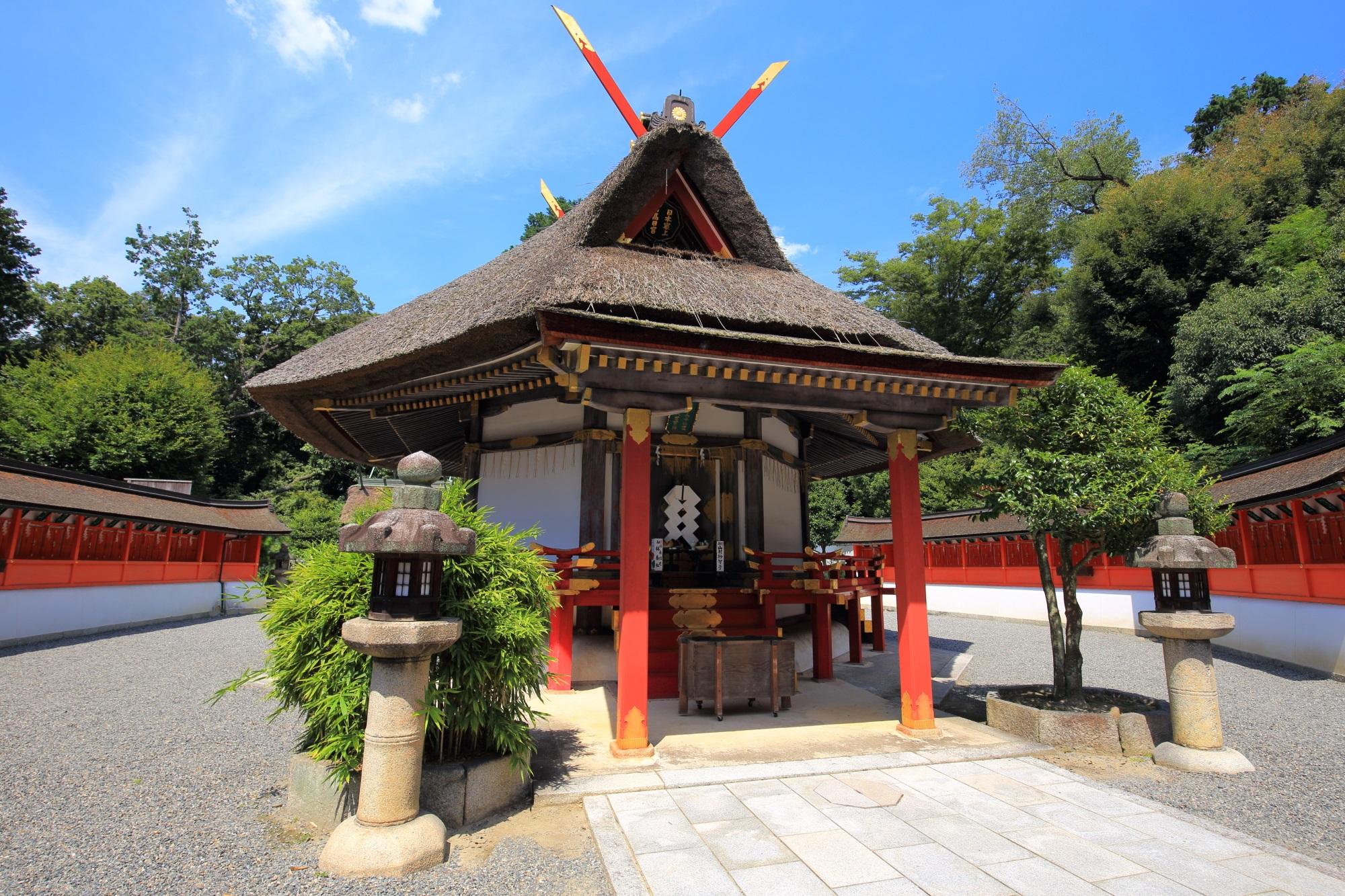 Kyoto Saijyosho-Daigen-gu Yoshida-jinja Shrine