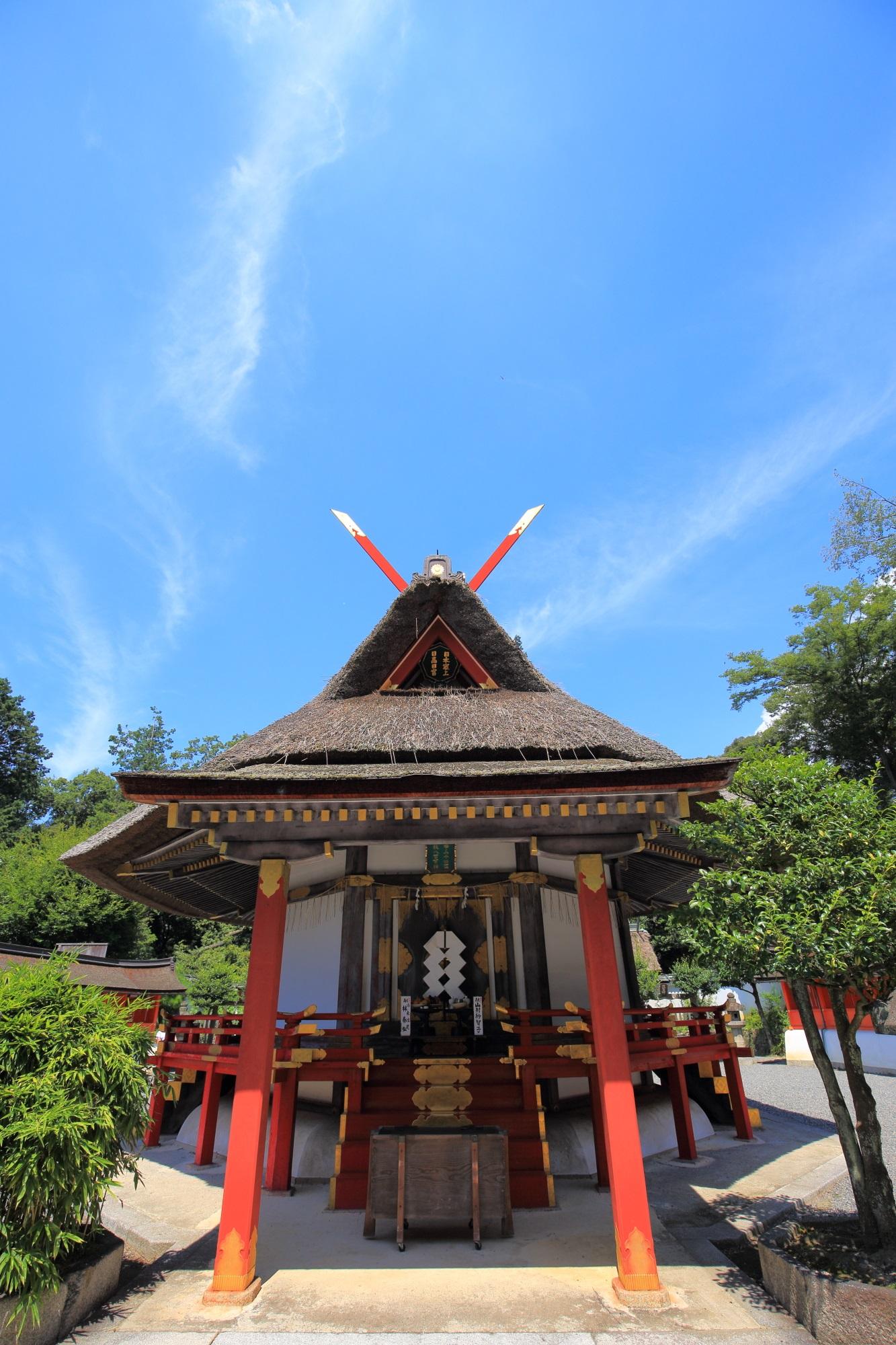 全国の神様が集う吉田神社末社の斎場所大元宮