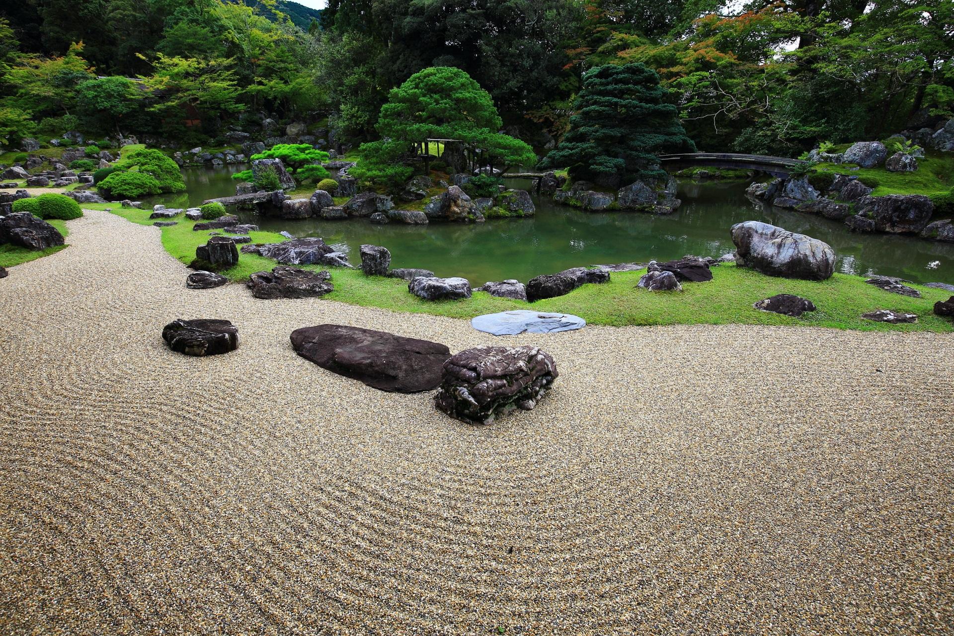 高画質 写真 三宝院 庭園