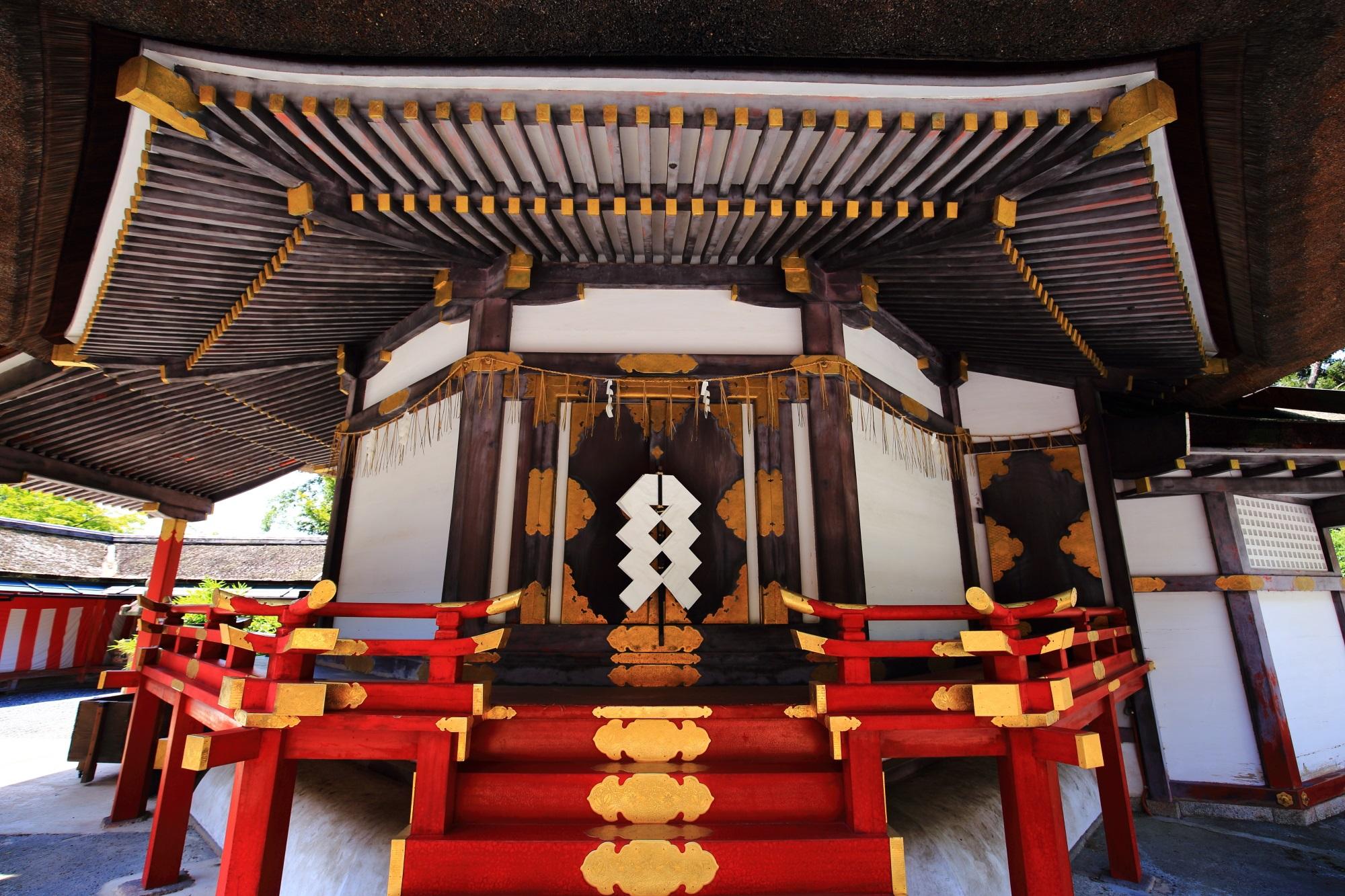斎場所大元宮 毎月一日 公開 吉田神社