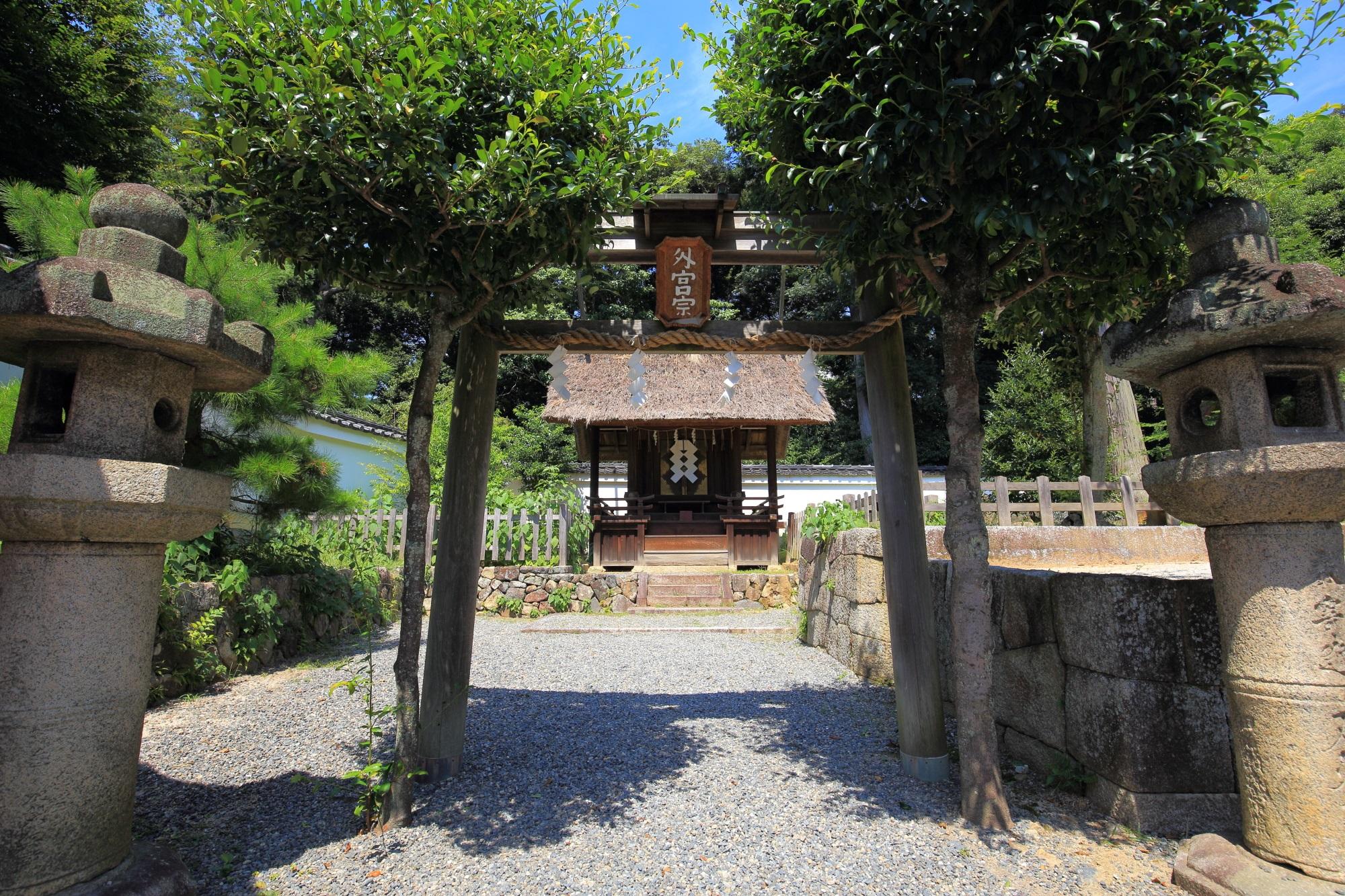 伊勢二宮 斎場所大元宮 吉田神社