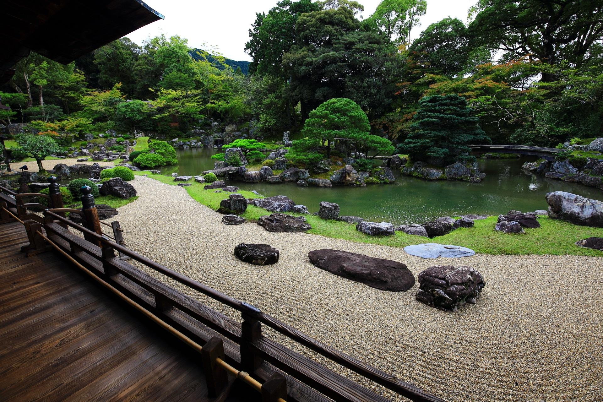 三宝院の見所満載の庭園