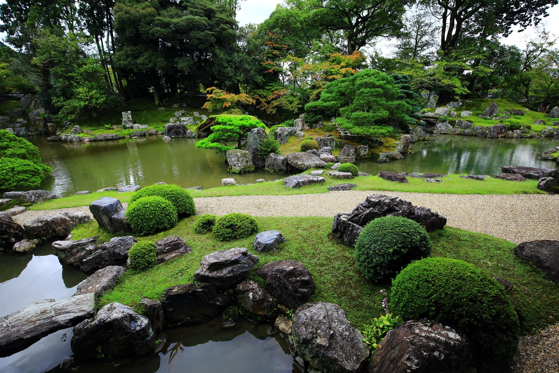 素晴らしい三宝院の庭園