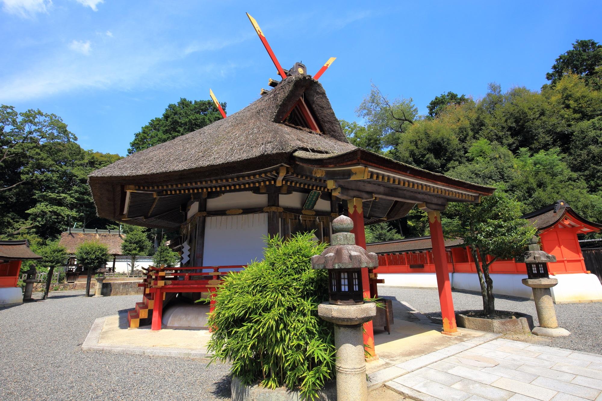 高画質 斎場所大元宮 写真 吉田神社