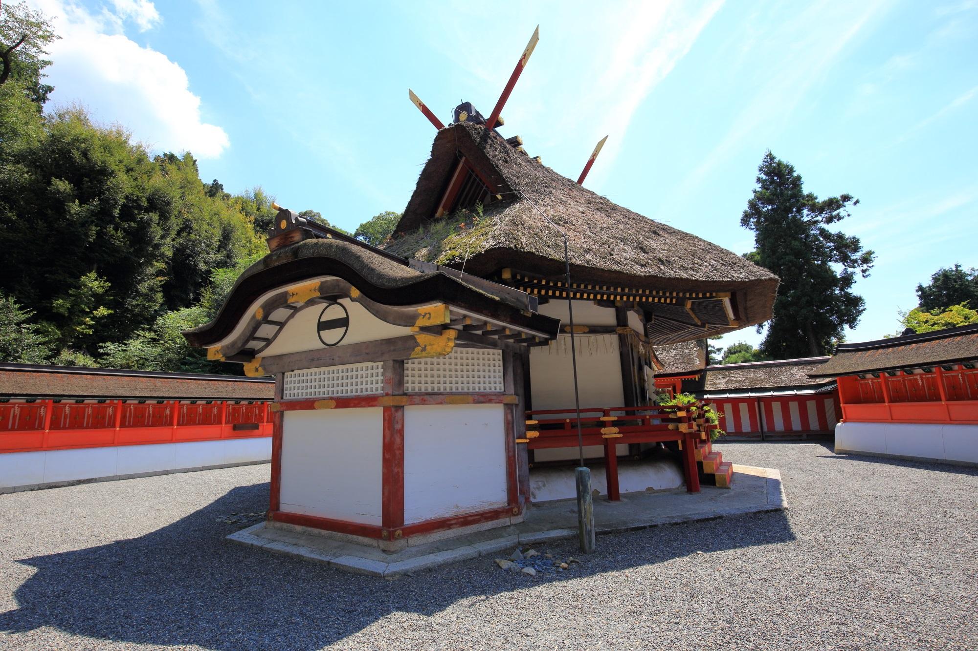 斎場所大元宮 写真 高画質 吉田神社
