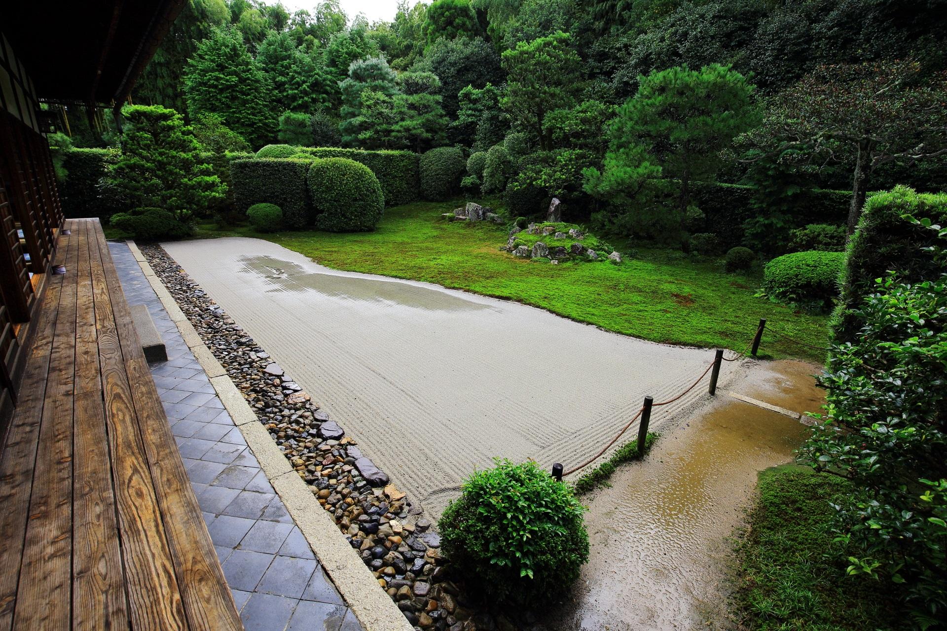 芬陀院の「鶴亀の庭」