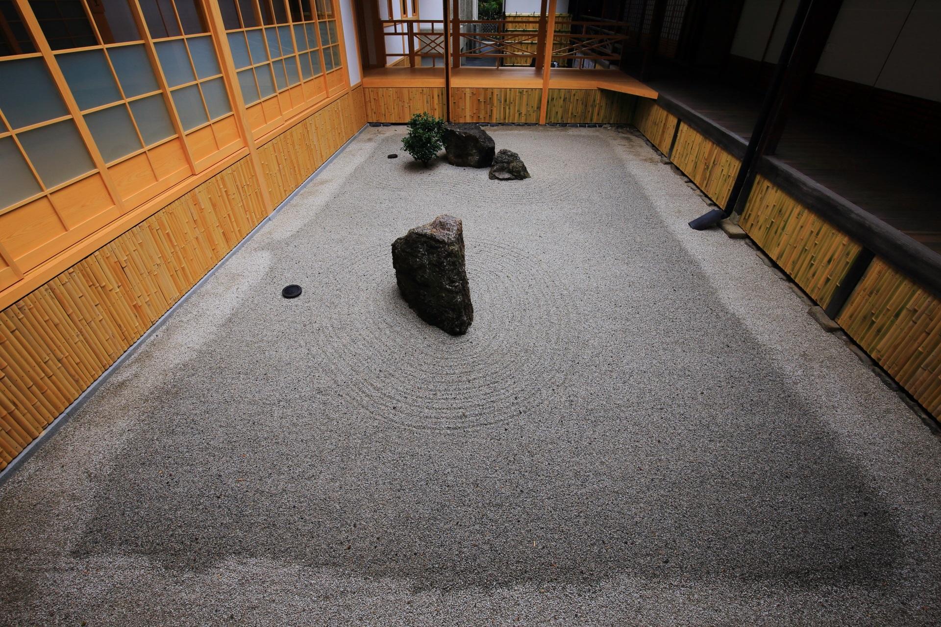 相国寺の方丈中庭
