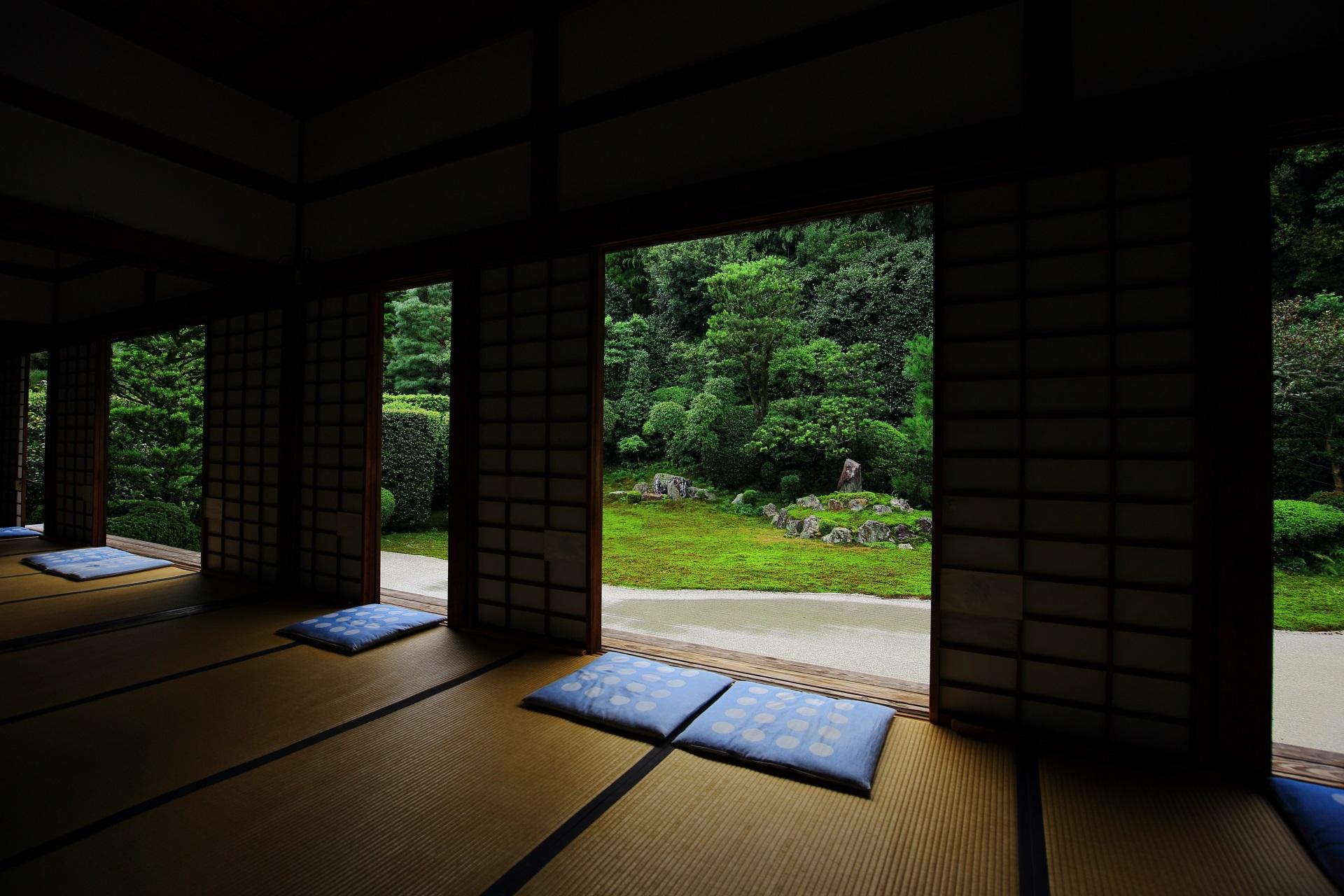 高画質 写真 鶴亀の庭 芬陀院