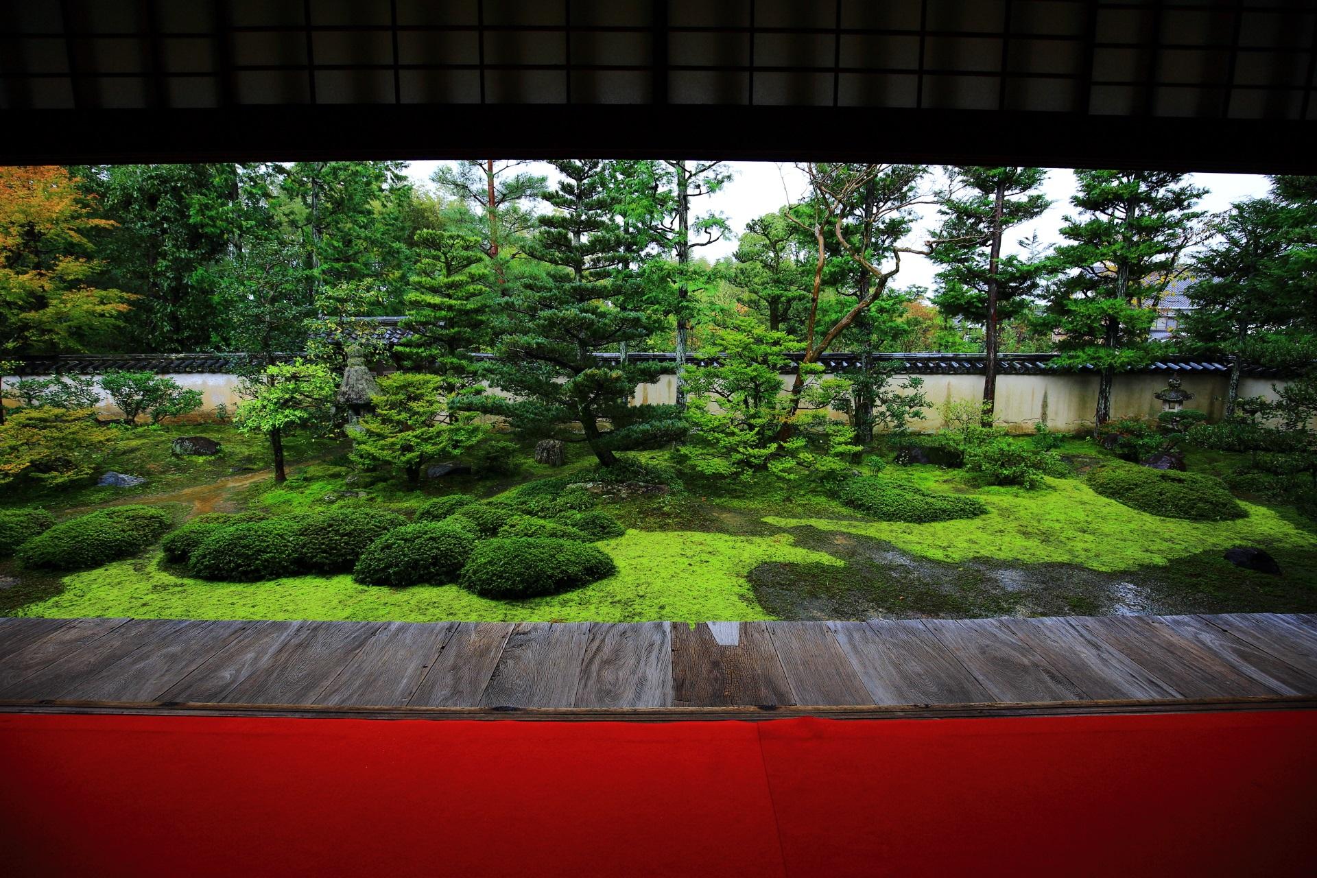 大雄院の客殿前庭園