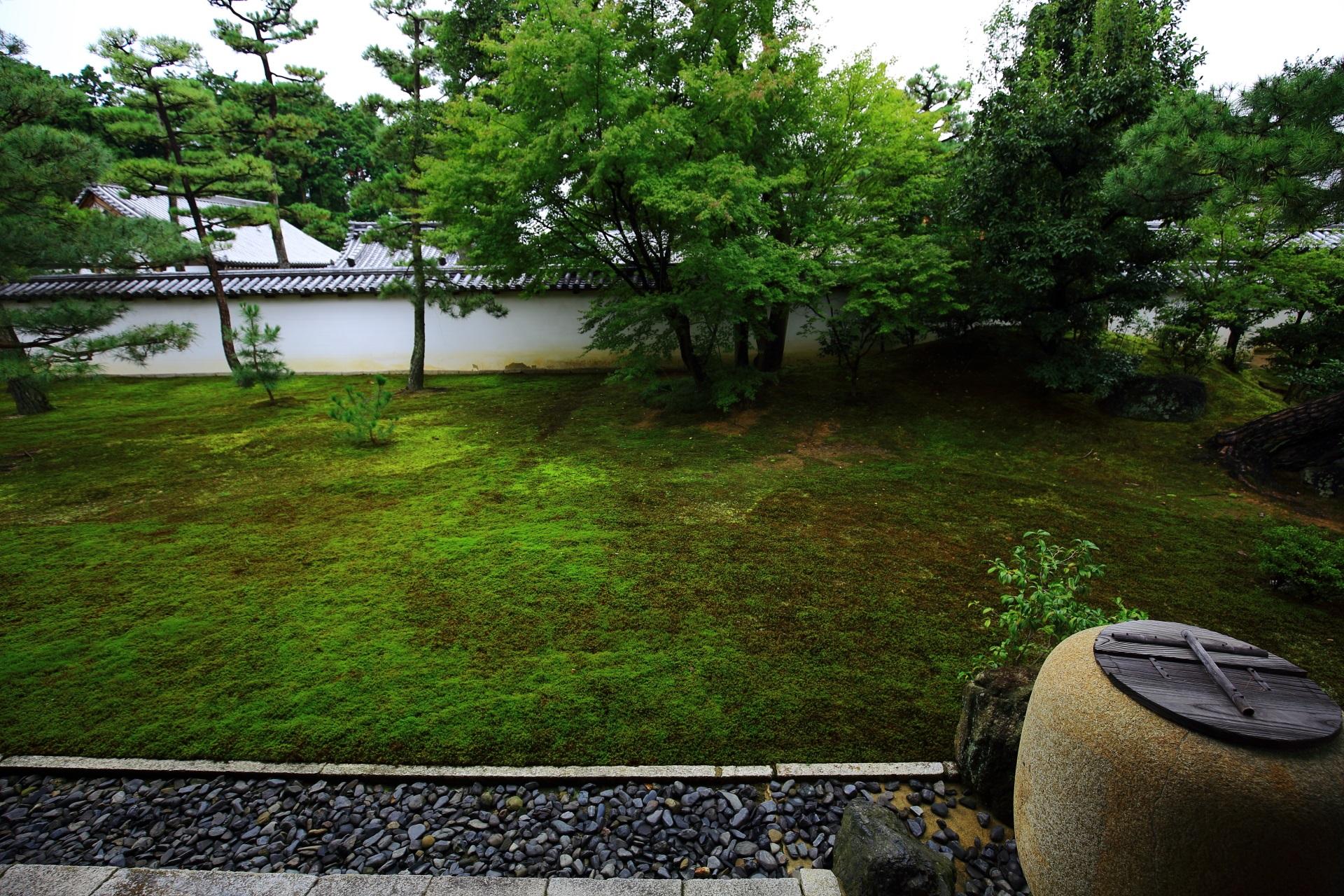 相国寺の方丈西庭園