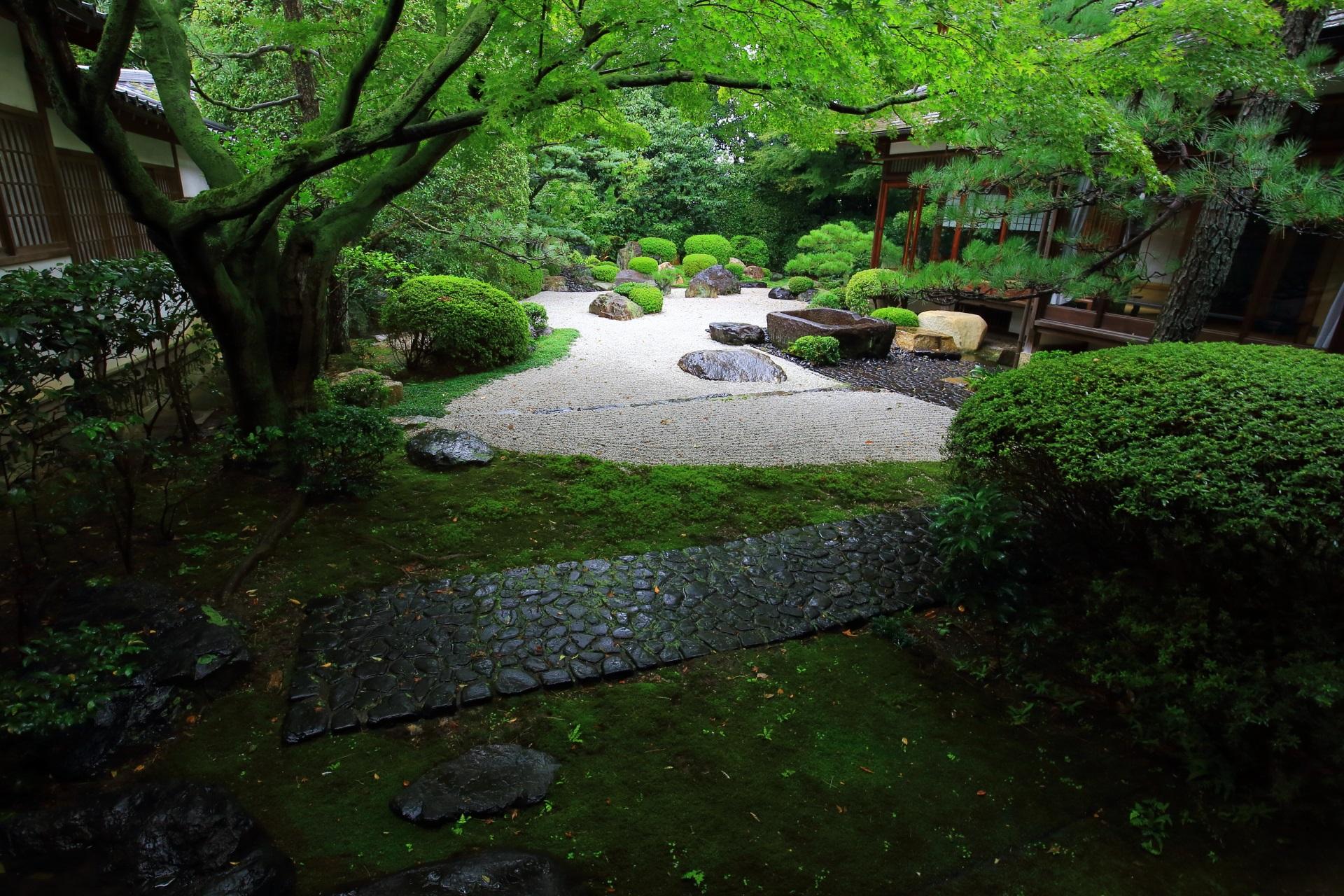御香宮神社 庭園 伏見の隠れた枯山水庭園