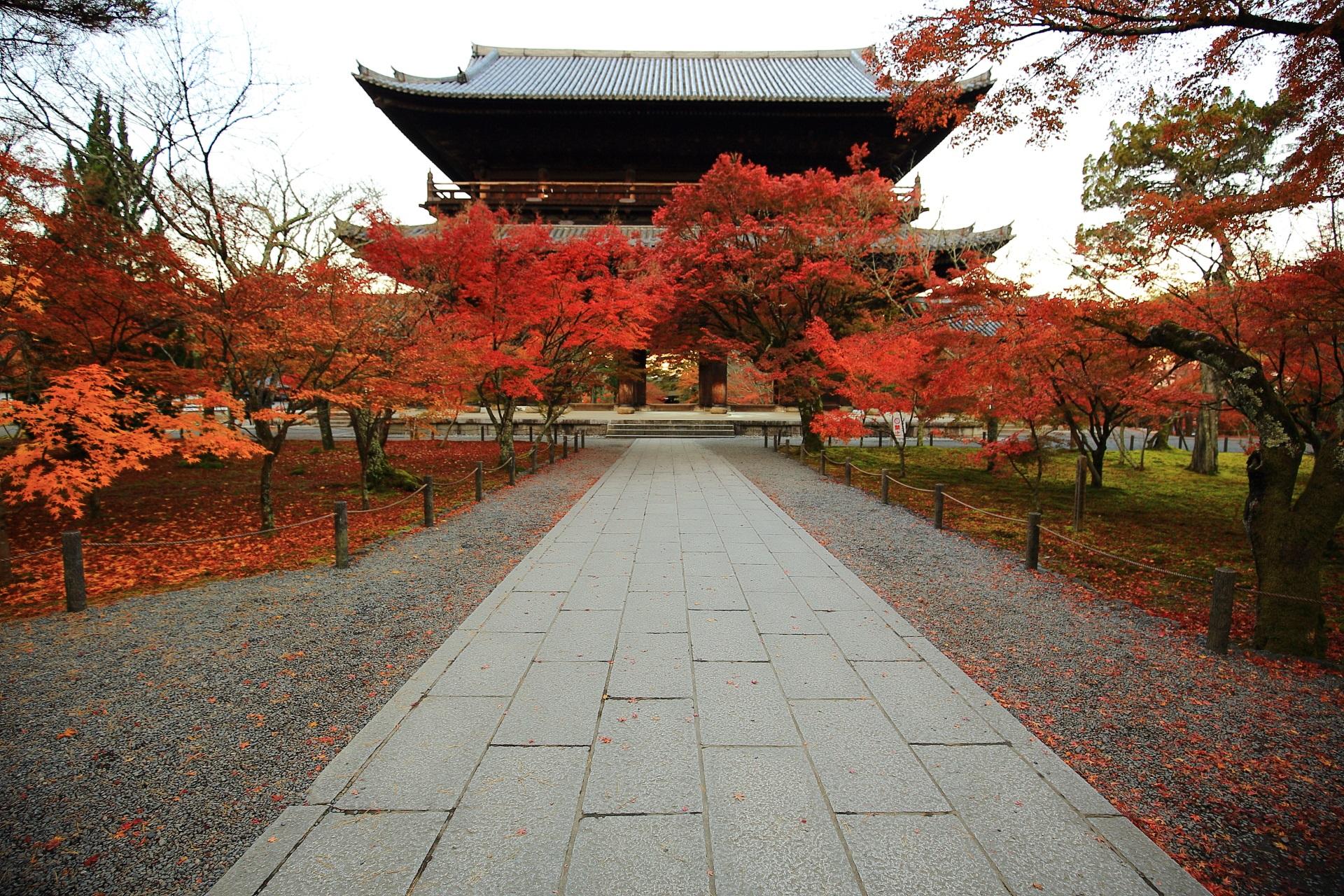 南禅寺の素晴らしい紅葉と三門や秋の情景