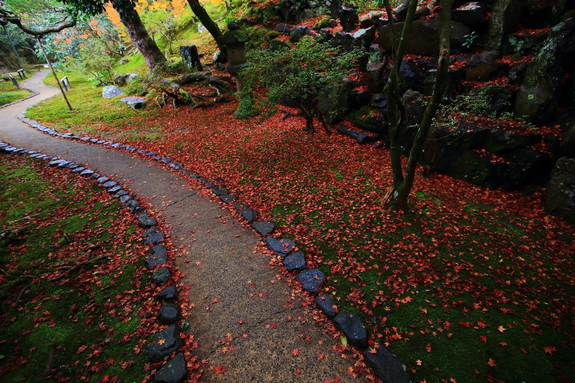 霊鑑寺の素晴らしい紅葉や秋の庭園