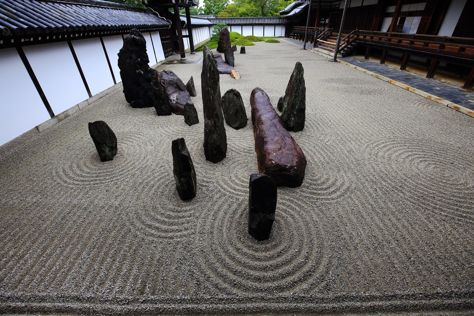 東福寺の「八相の庭」と呼ばれる方丈庭園