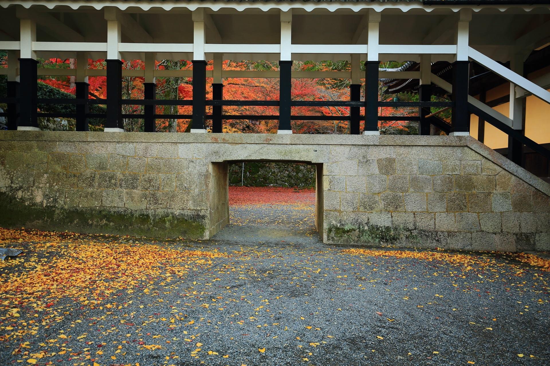 南禅寺の渡廊下を彩る絶品の秋色