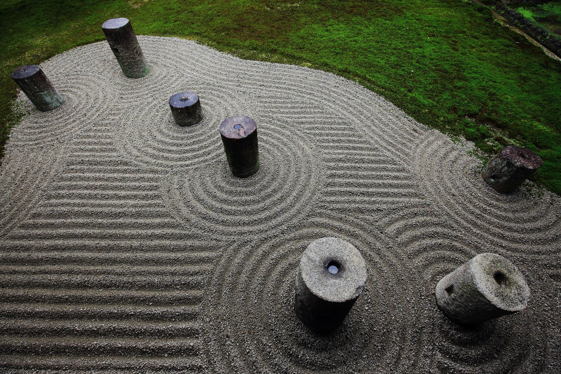 東福寺の方丈東庭