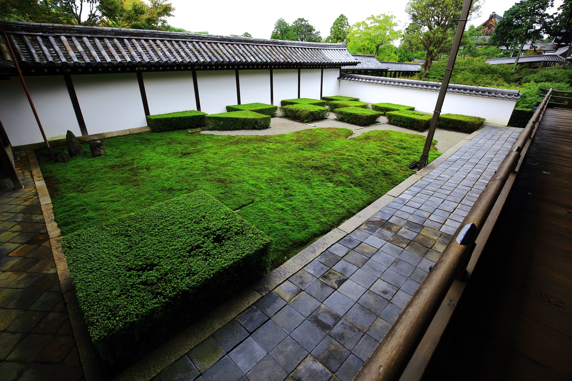 東福寺の方丈西庭