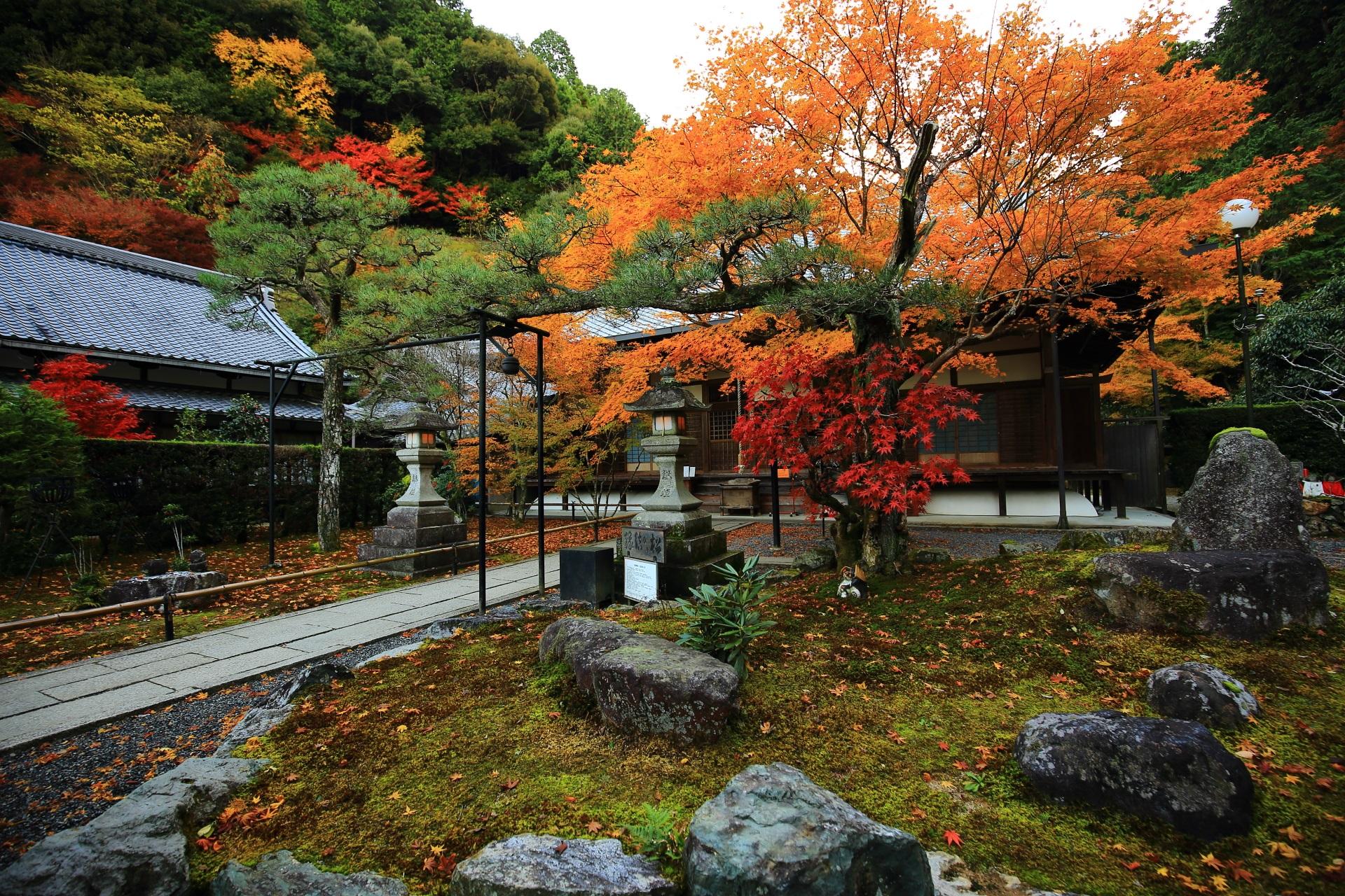 最勝院 紅葉 南禅寺の奥にある絵になる紅葉の名所
