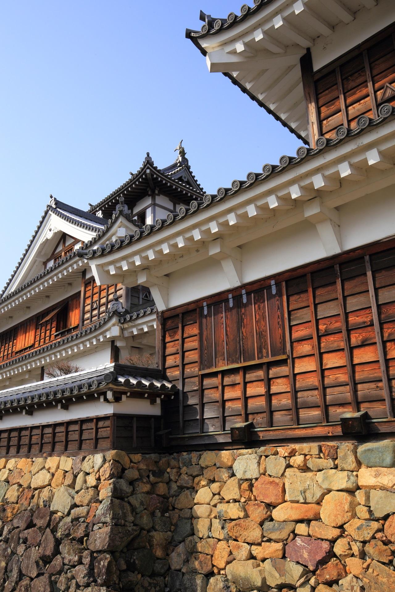 立地などから「臥龍城」とも呼ばれる福知山城
