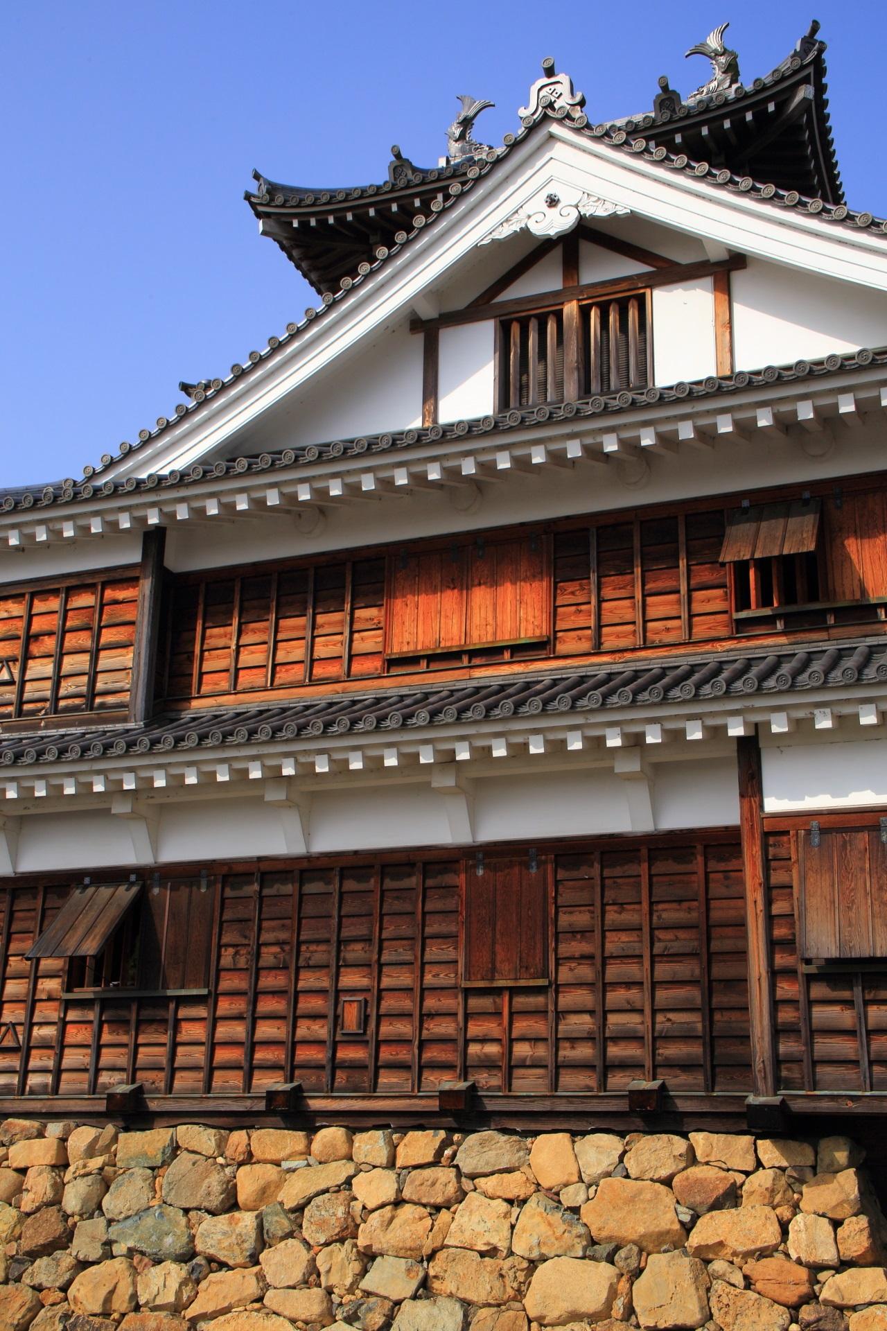郷土資料館として公開されている福知山城の天守閣内部